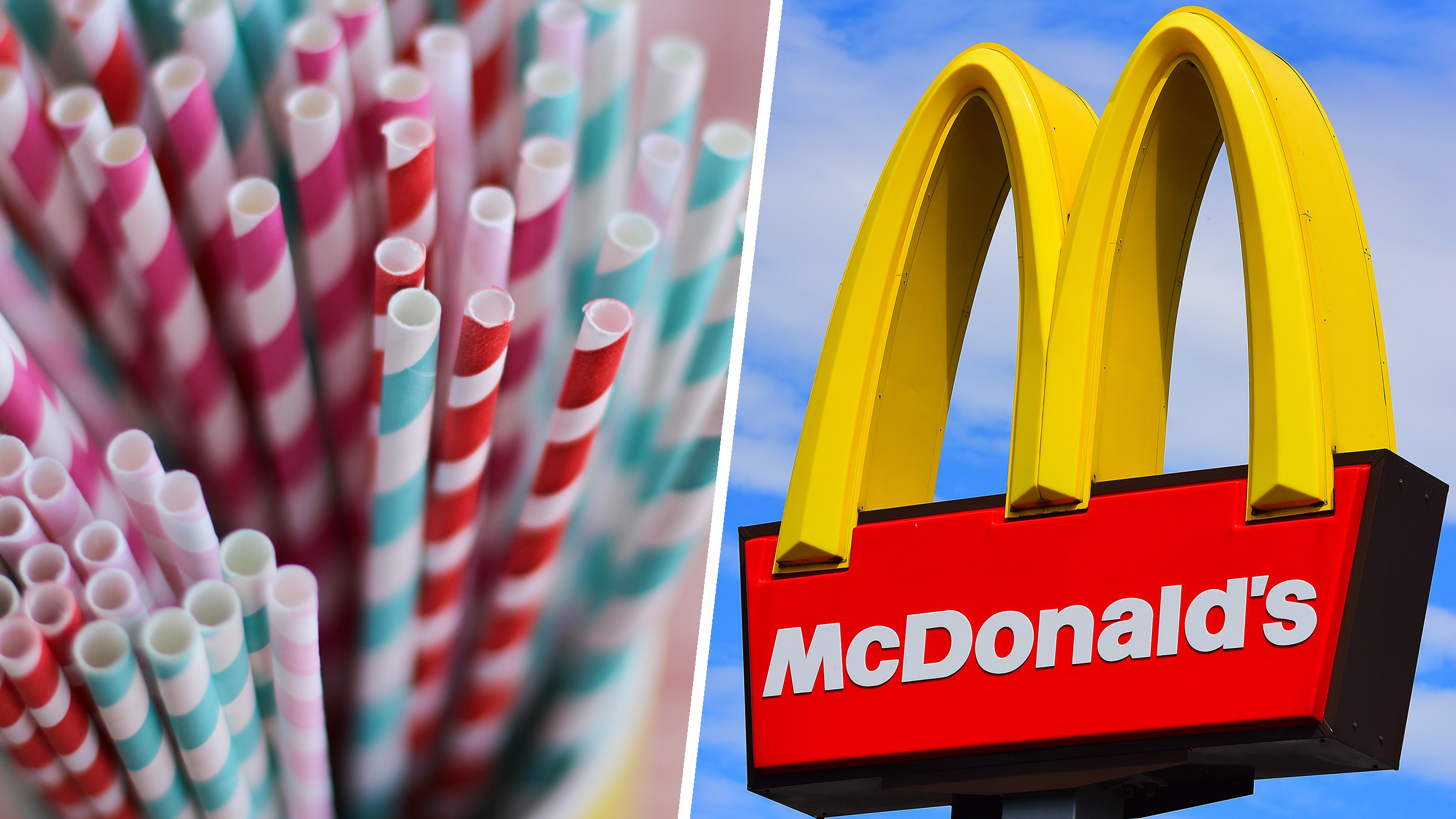 McDonald's to stop using plastic straws in select US markets - TODAY.com