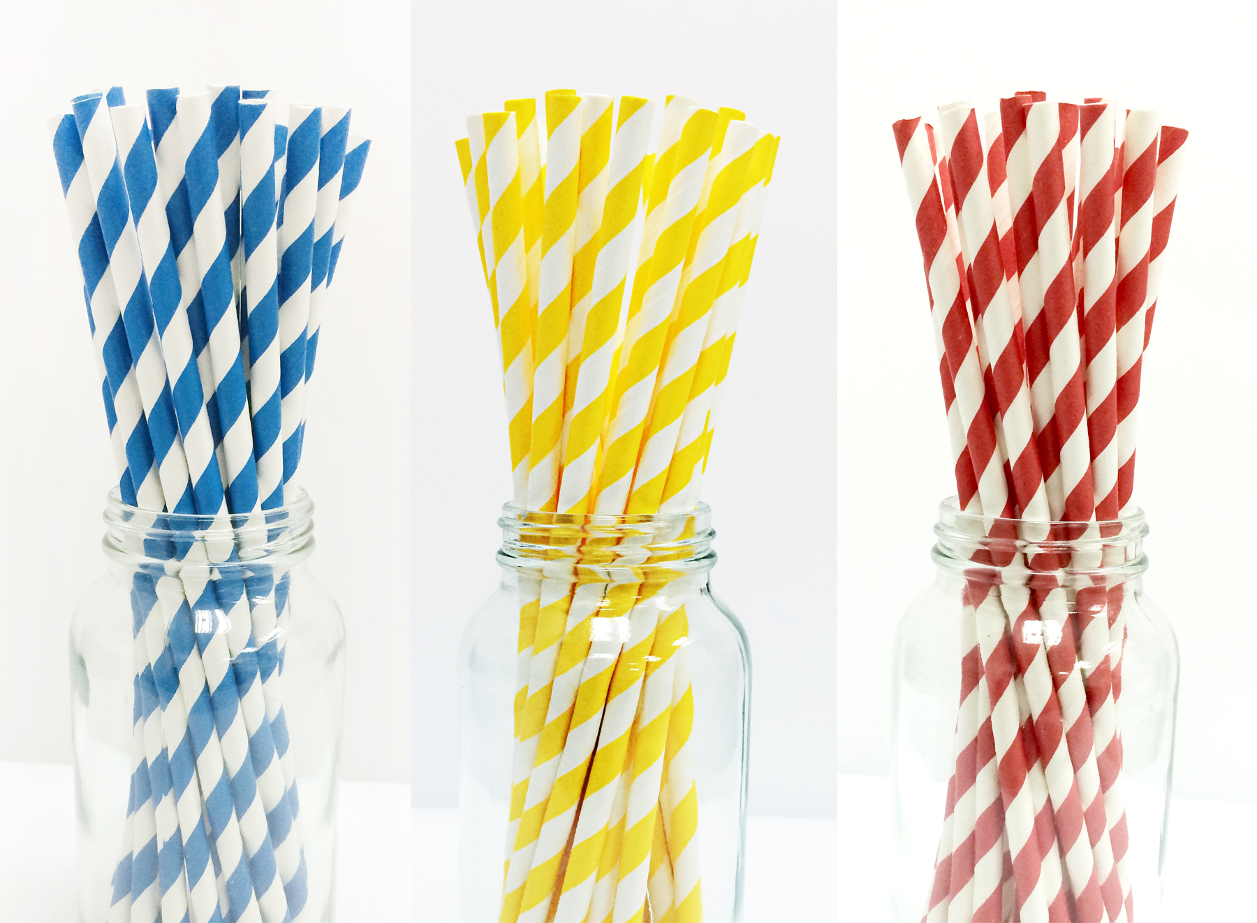 Stripe Paper Straws - Muddle Me