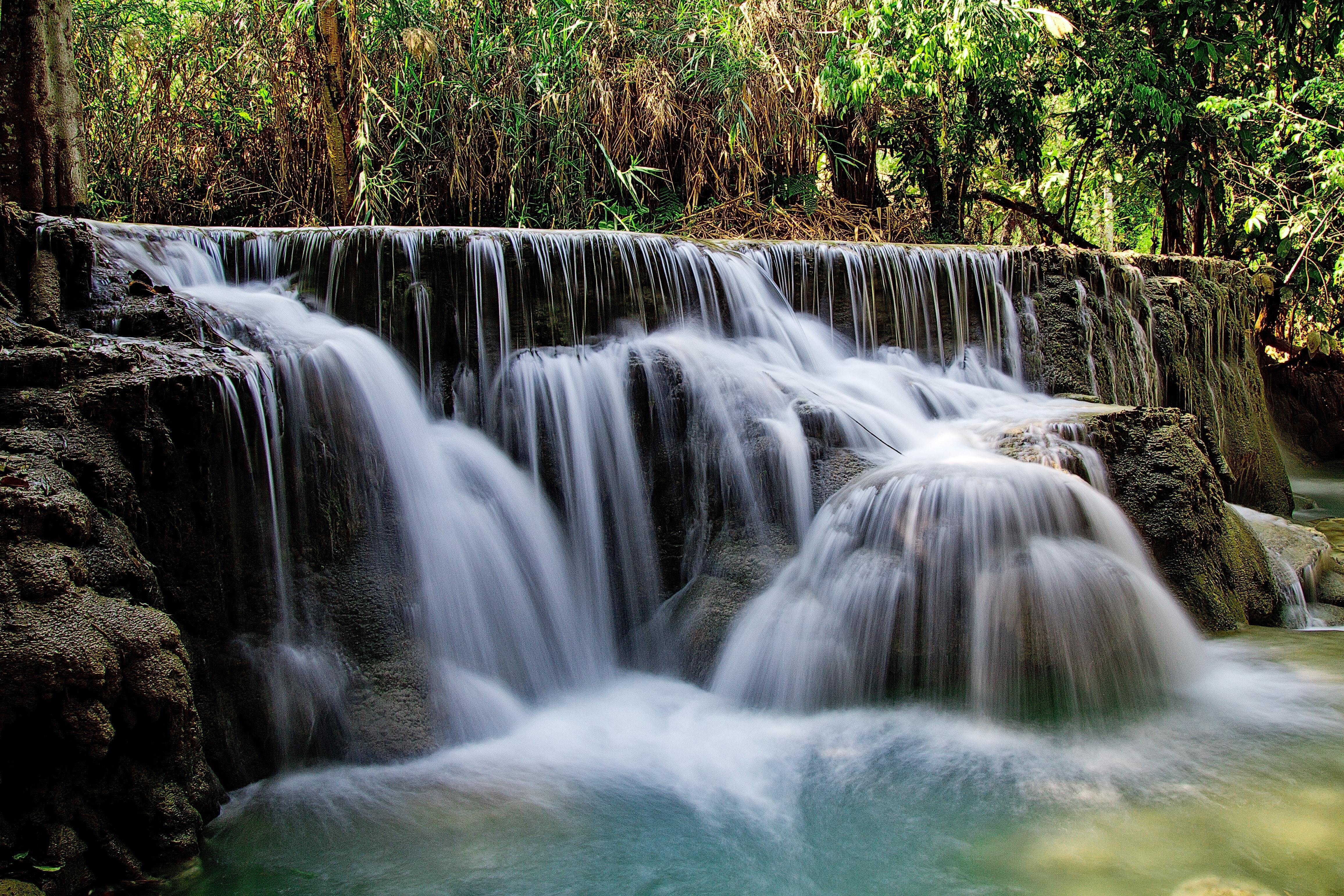 Free stock photo of long-exposure, nature, stream