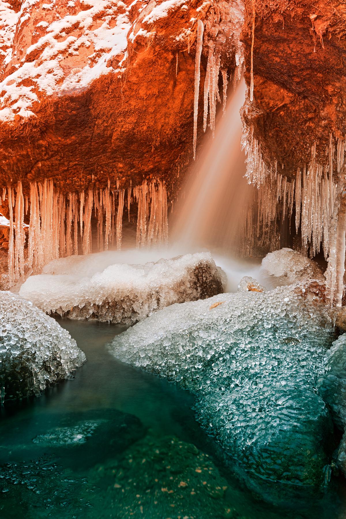 Stream of elemental hope - hdr photo