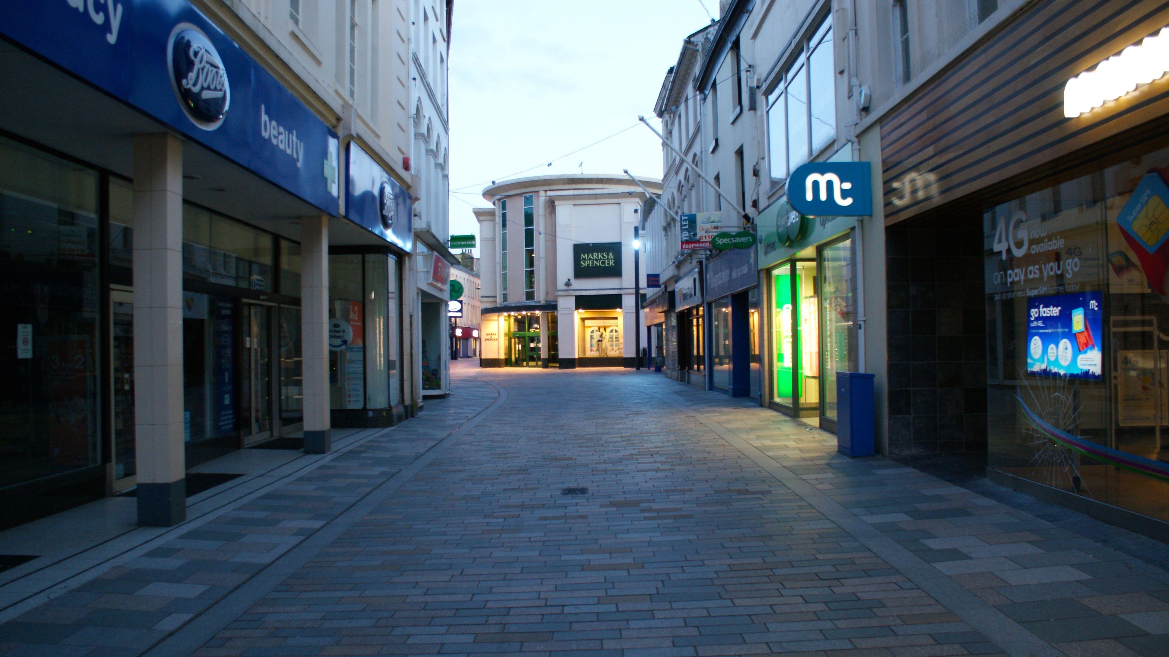 Strand Street (Shopping High Street), Douglas | Isle of Man Film