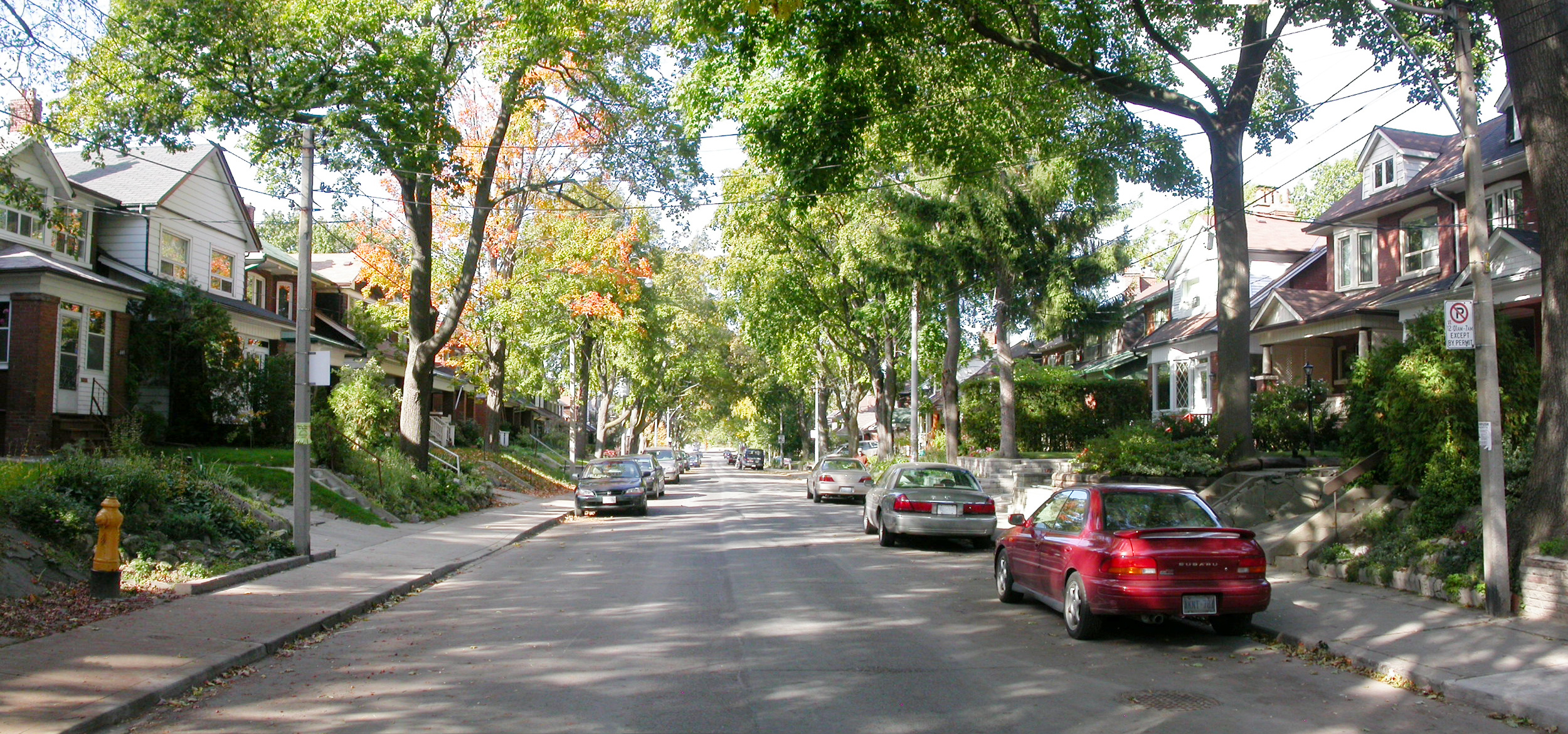 Residential On-Street Parking – City of Toronto