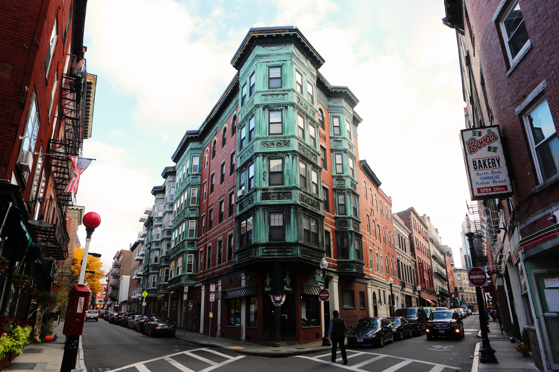 Street Corner in Boston, Massachusetts image - Free stock photo ...