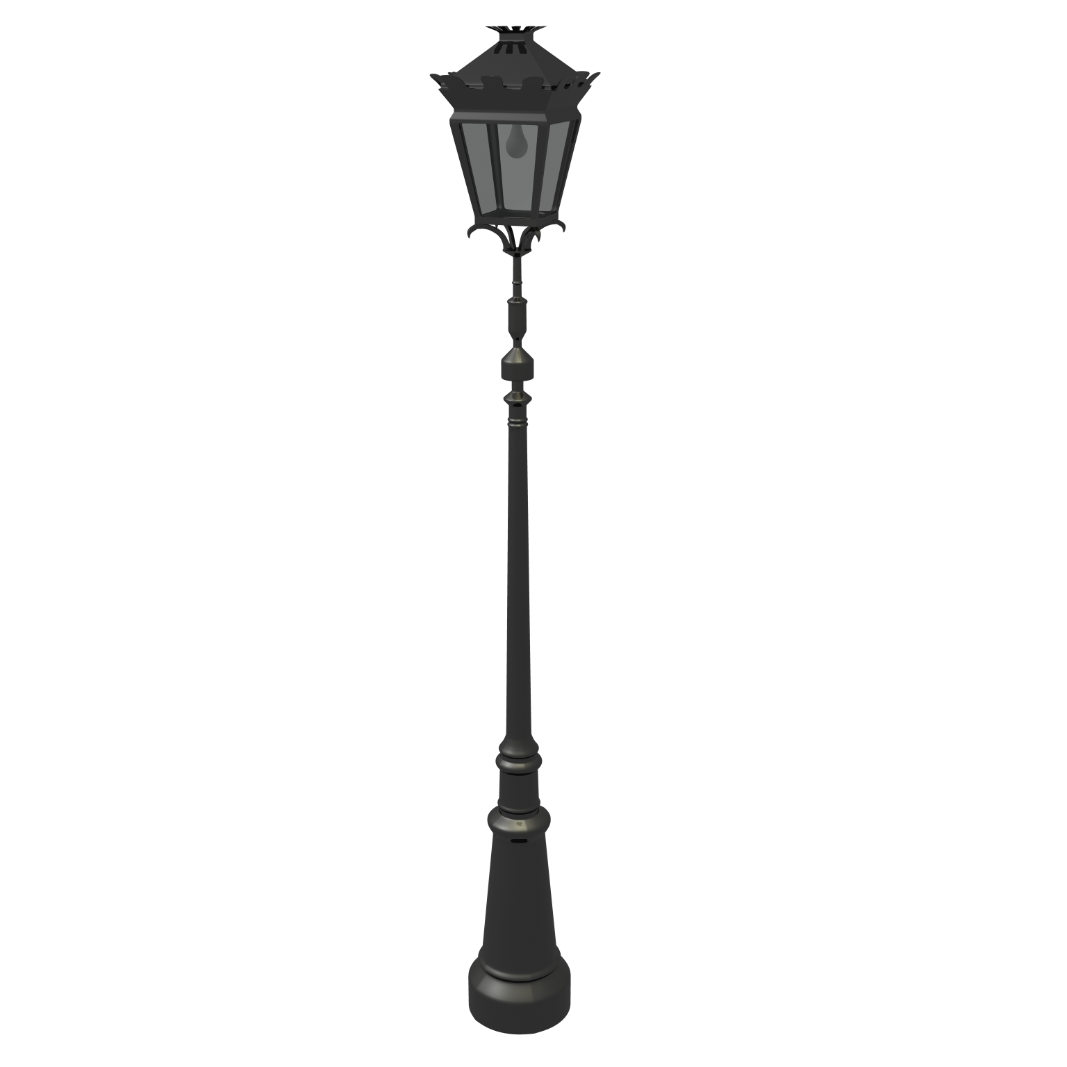 Street Lamp 3D Model – Buy Street Lamp 3D Model | FlatPyramid