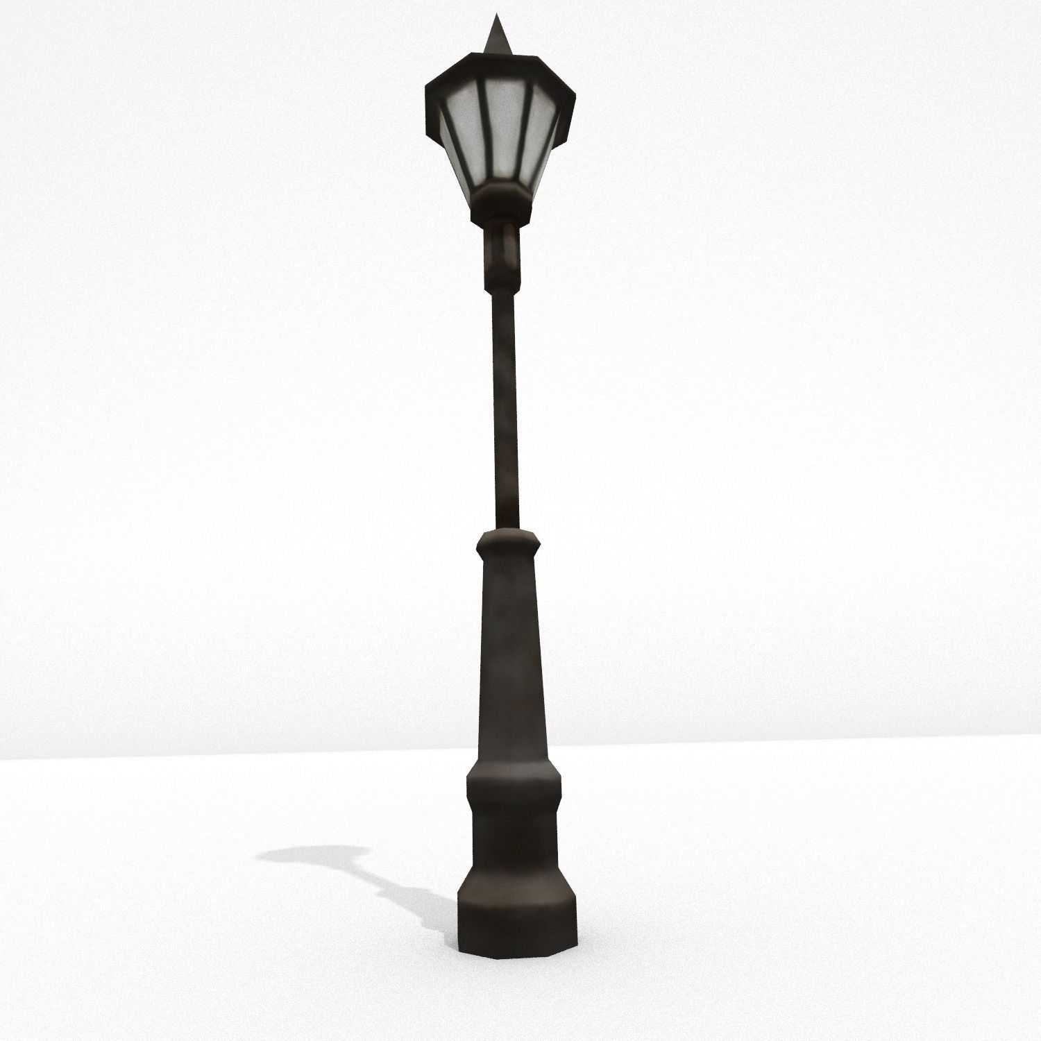 3D asset Low Poly Street Lamp | CGTrader