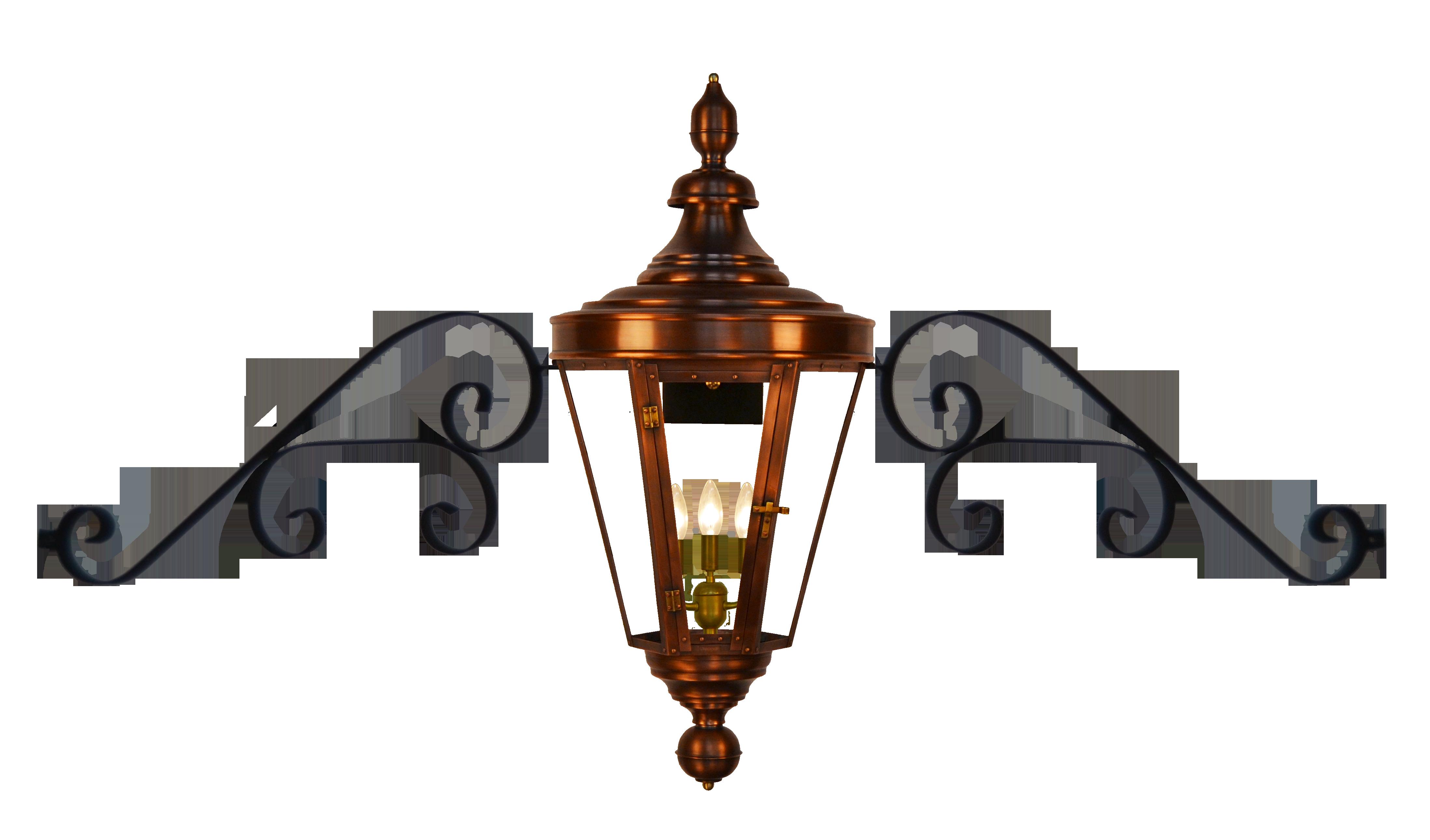 Royal Street Lantern - The CopperSmith - French Market Lanterns