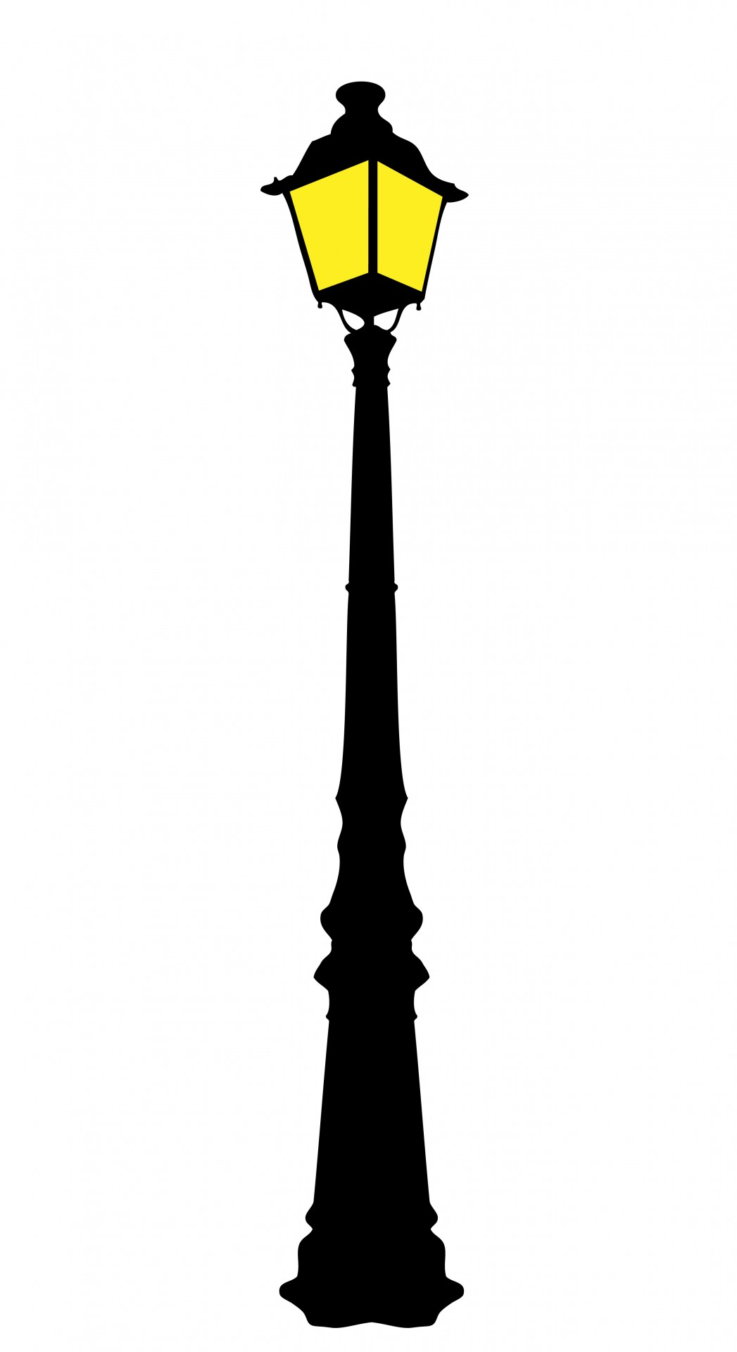 Vintage Street Lamp Clipart Free Stock Photo - Public Domain Pictures