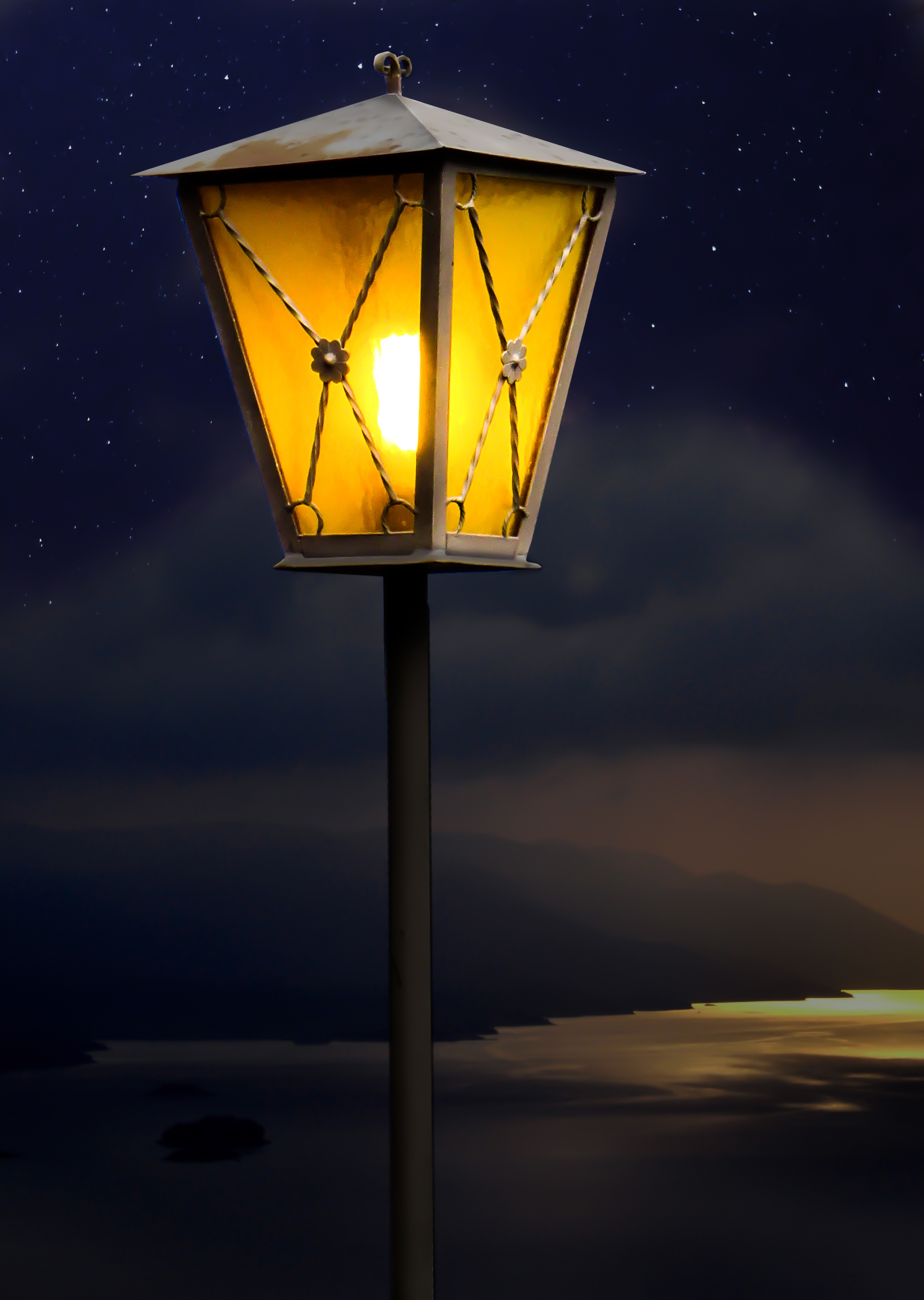 Street Lantern, Electronic, Lamp, Lantern, Light, HQ Photo