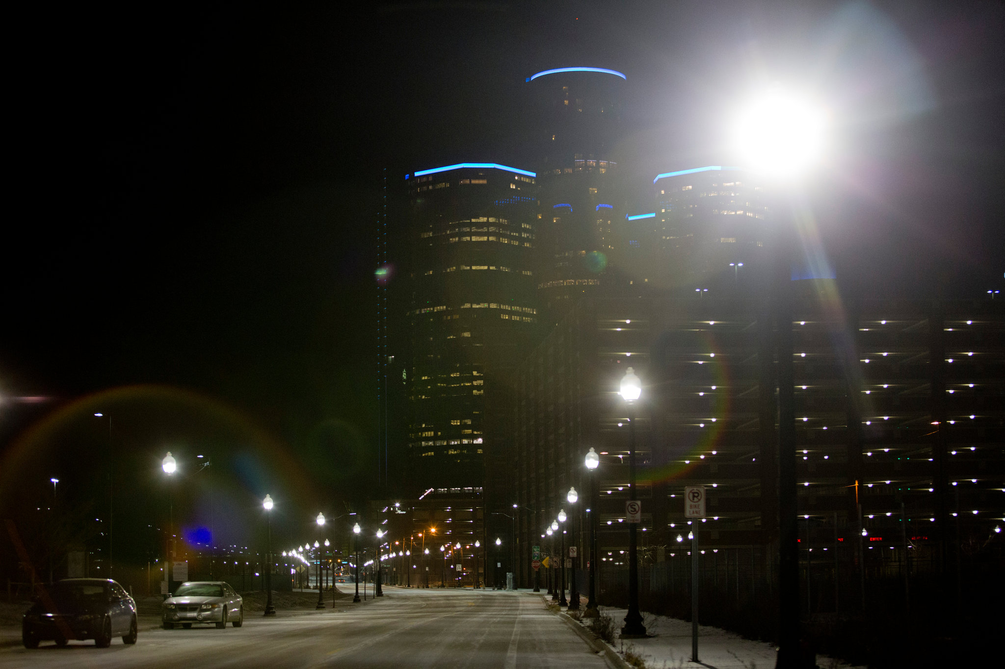 Detroit's New Streetlights Show Service Rebuilding in Action