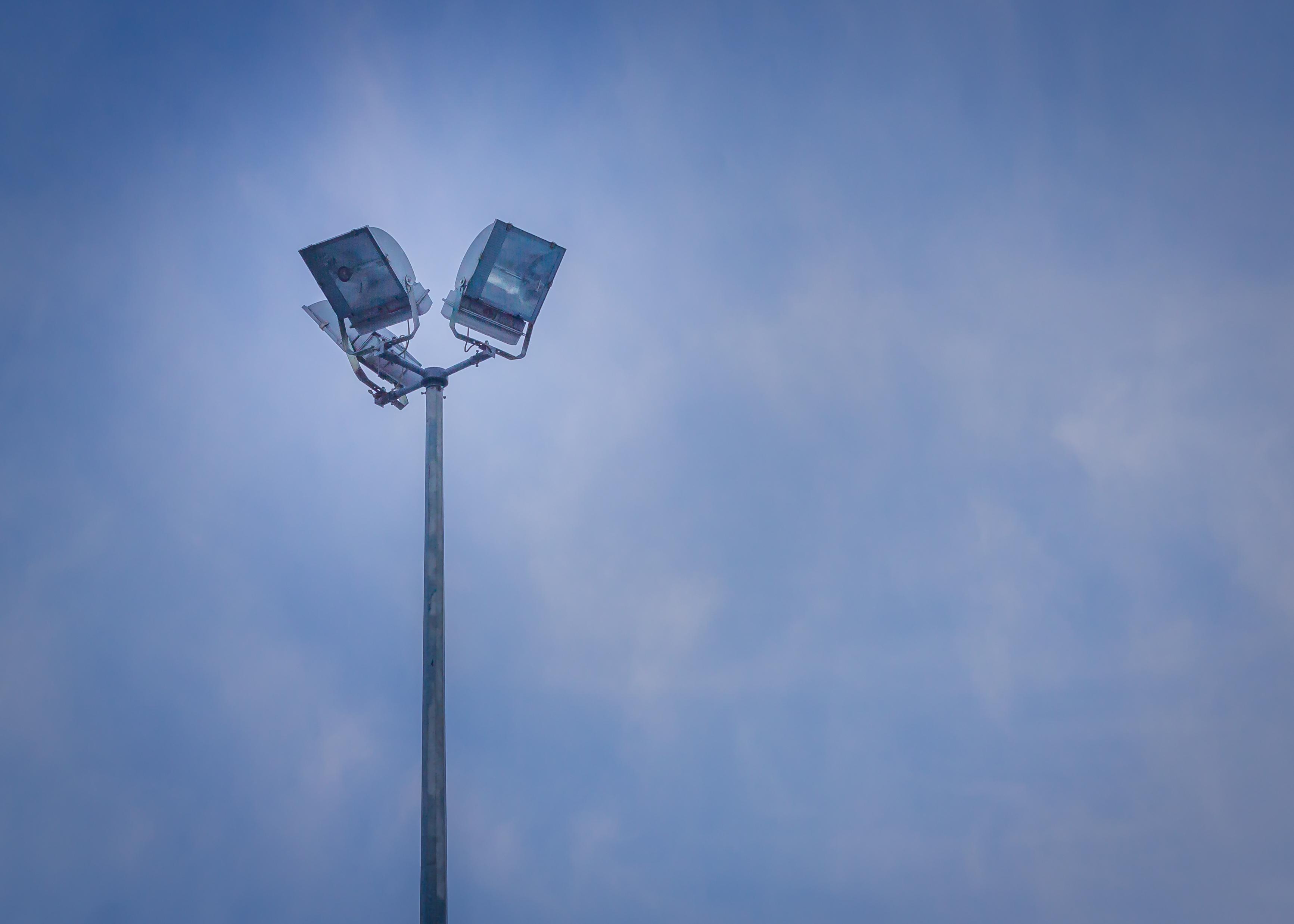 Street Lights, Bulb, Flash, Lights, Metal, HQ Photo
