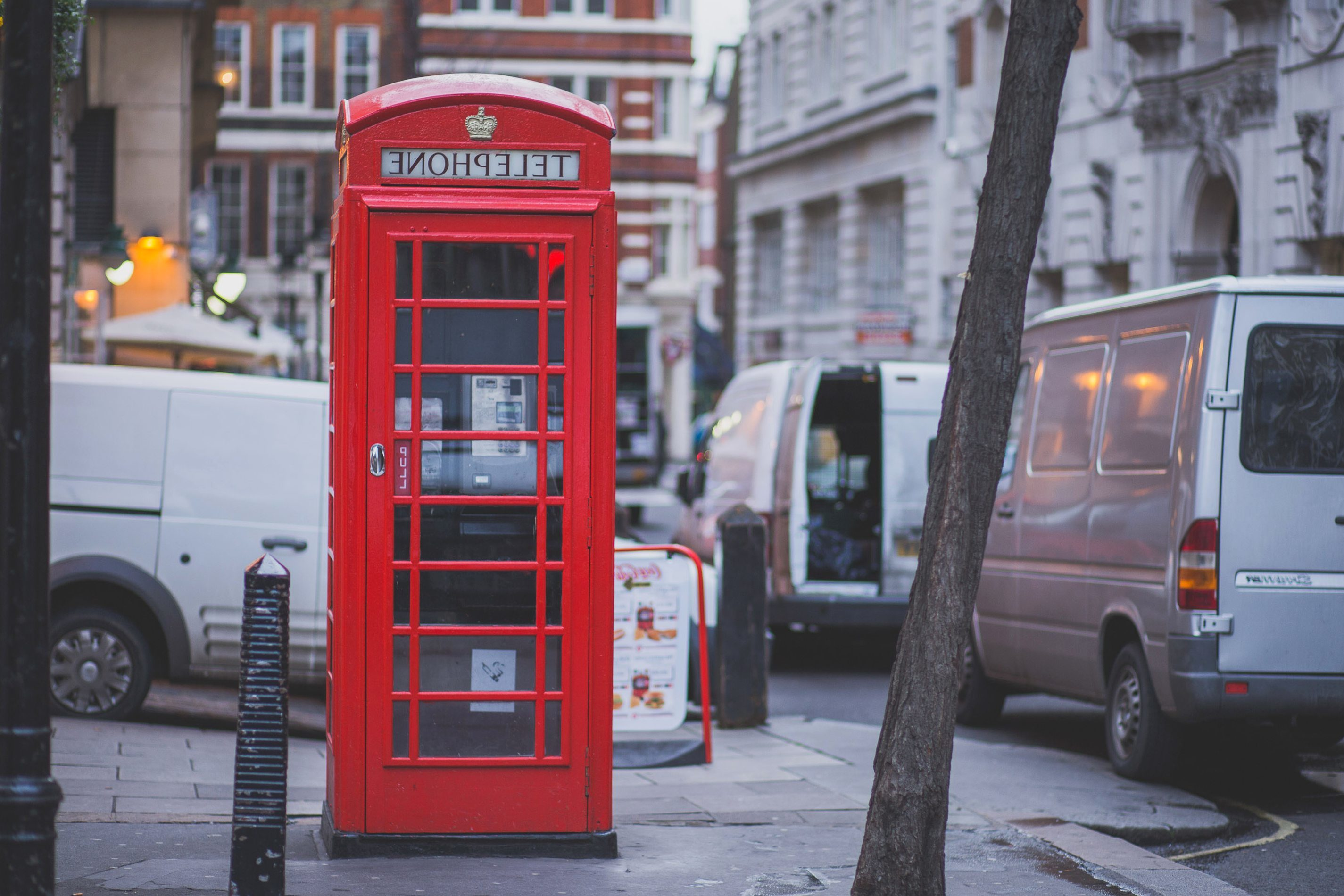 Free picture: red, telephone, box, street, call, telephone, phone