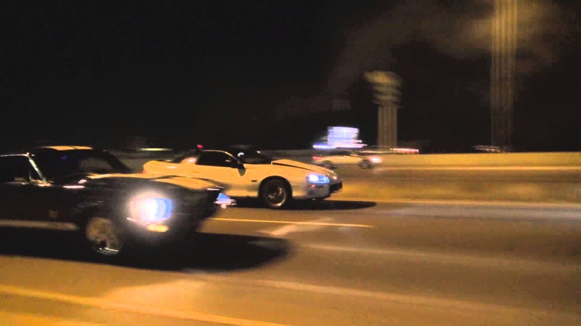 Street Race Gone Bad(Nitrous 67 Mustang vs. 99 Twin Turbo Camaro ...
