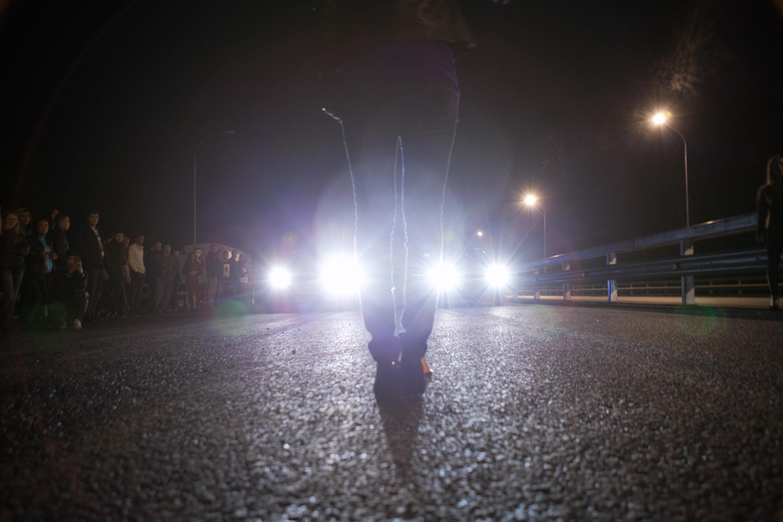 street racing, Auto, Light, Way, Transport, HQ Photo