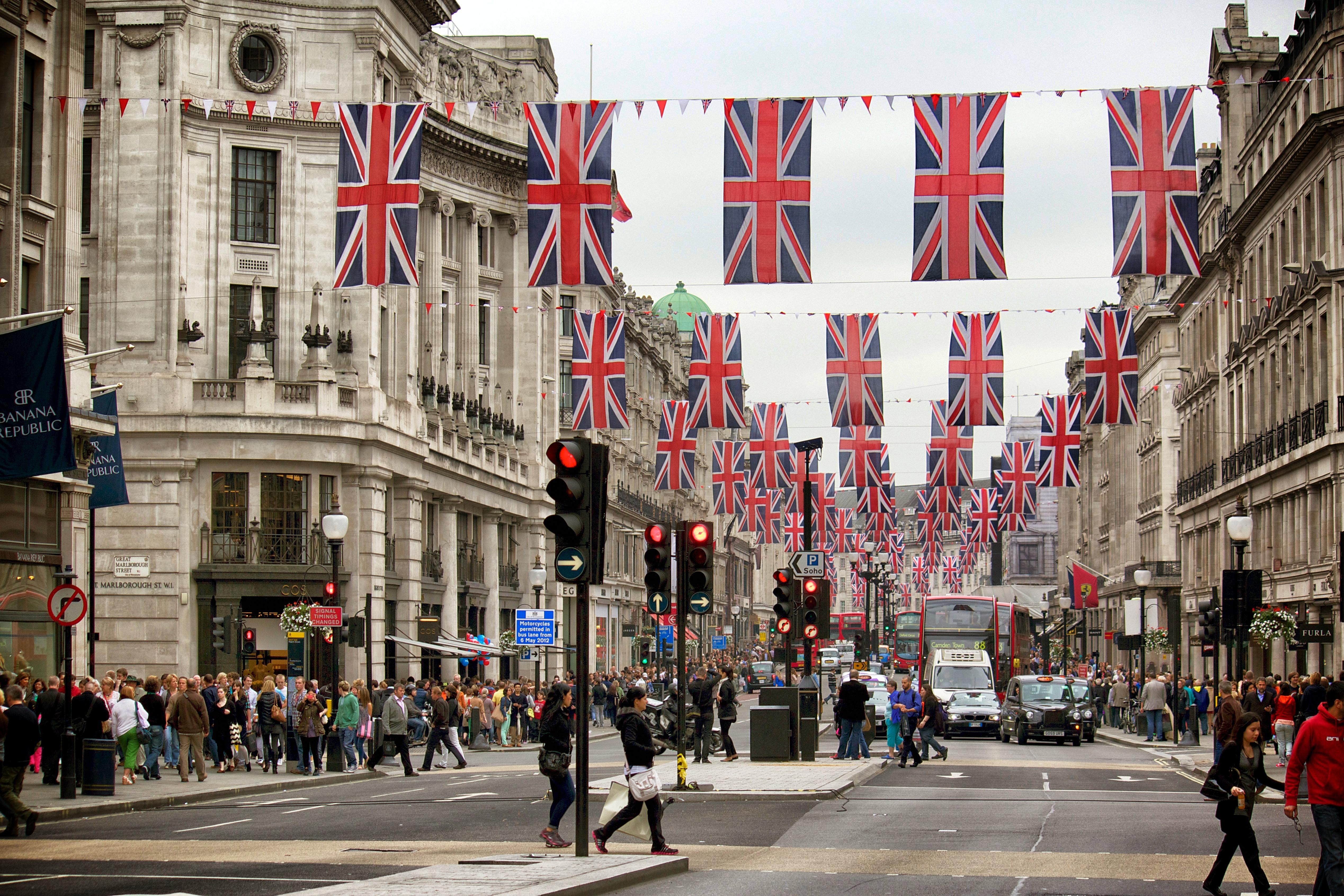Regent Street Flags – A Life In London