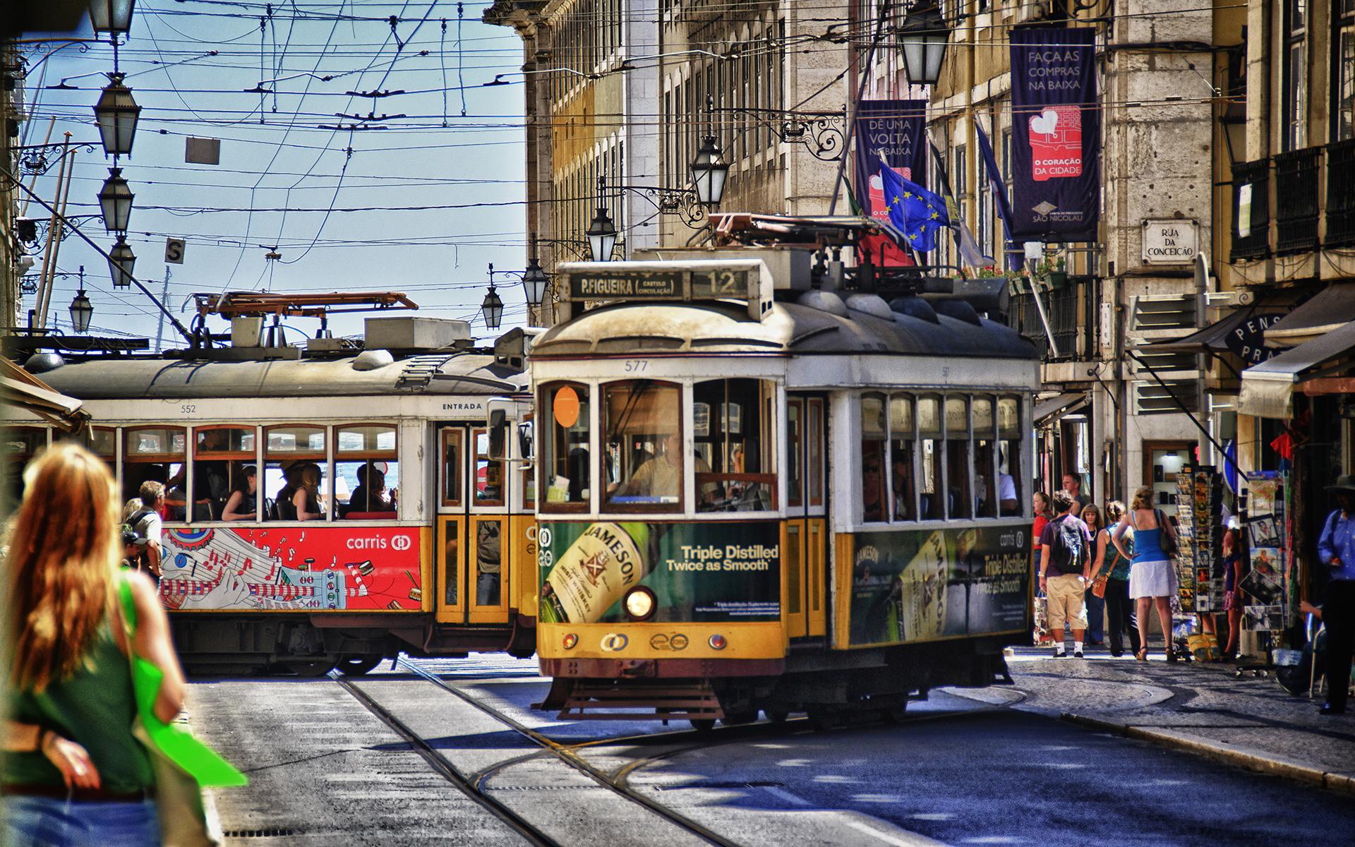 Streets of lisbon photo