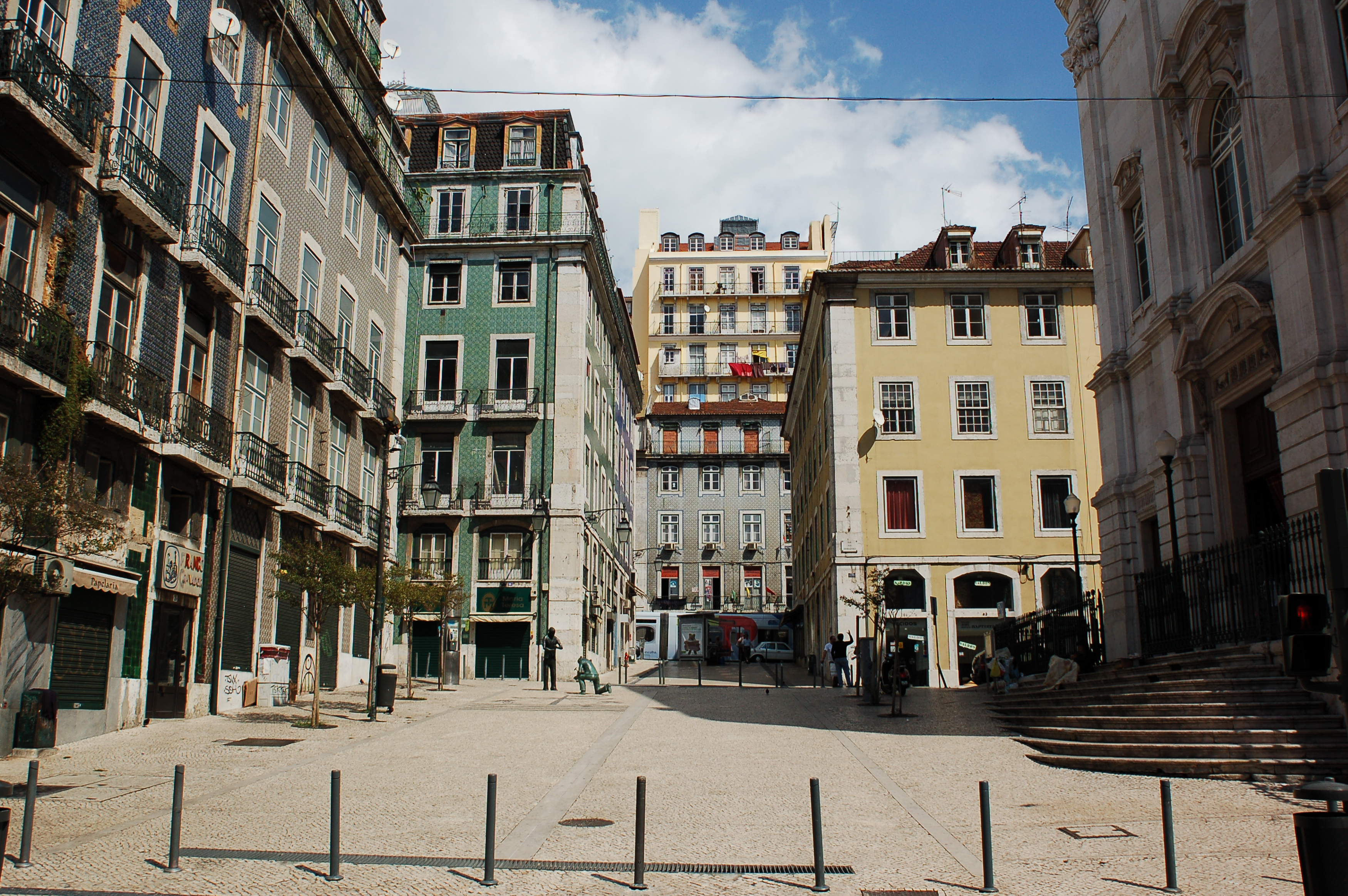 File:Streets of Lisbon. Portugal, Southwestern Europe.jpg ...