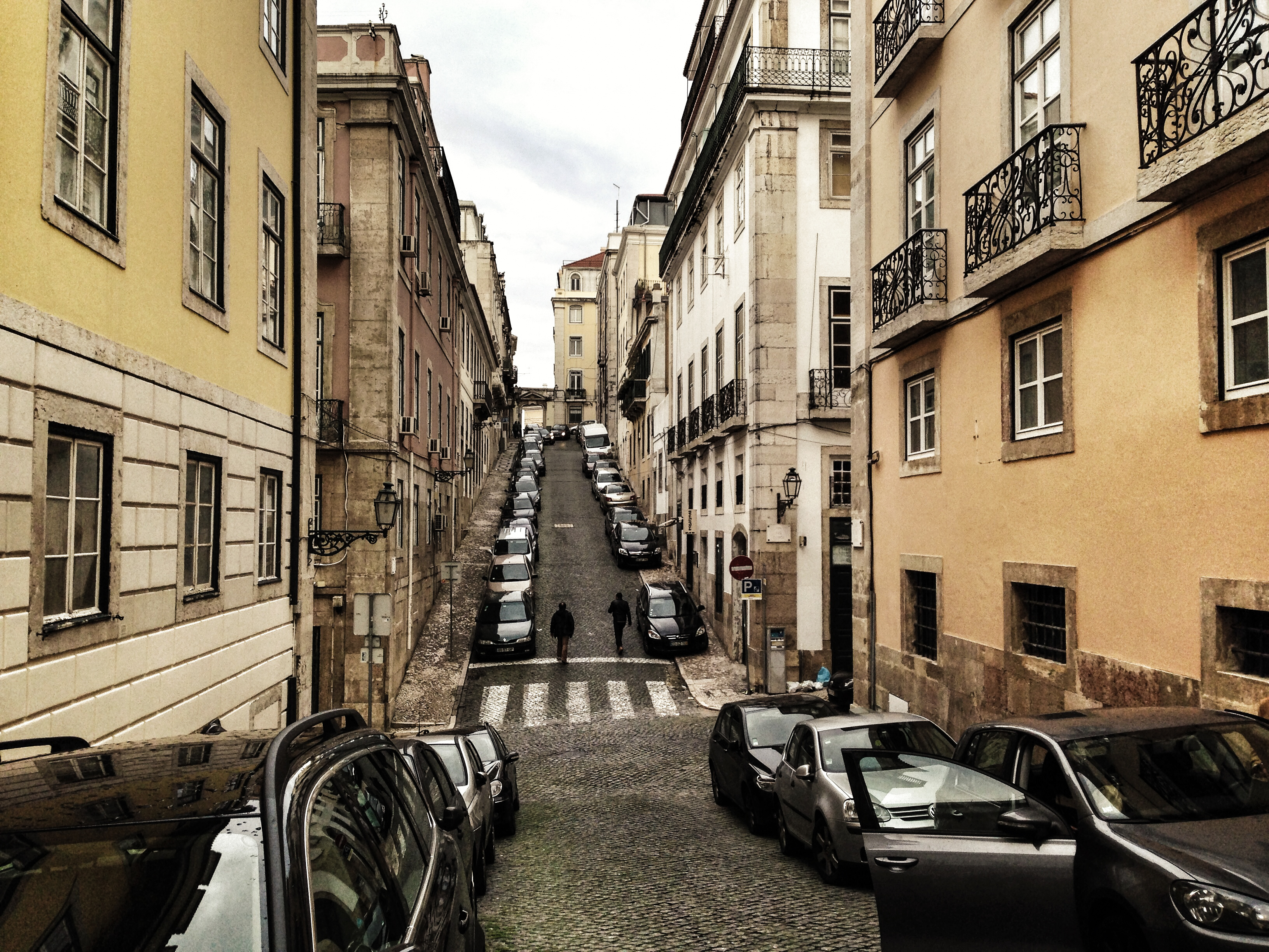 Slanty Streets Lisbon Portugal - Style Hi Club