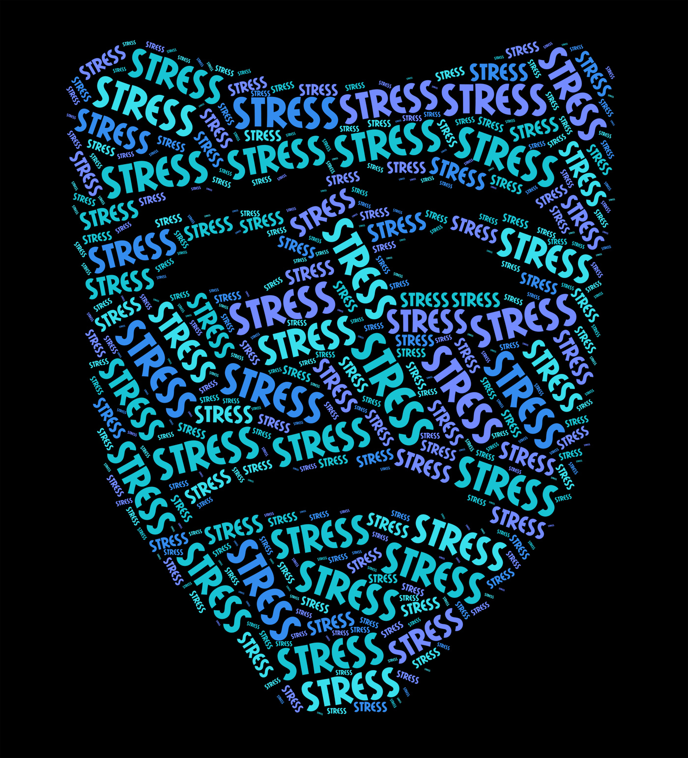 Stress Word Represents Stressful Overload And Wordclouds, Tension, Stressing, Text, Word, HQ Photo