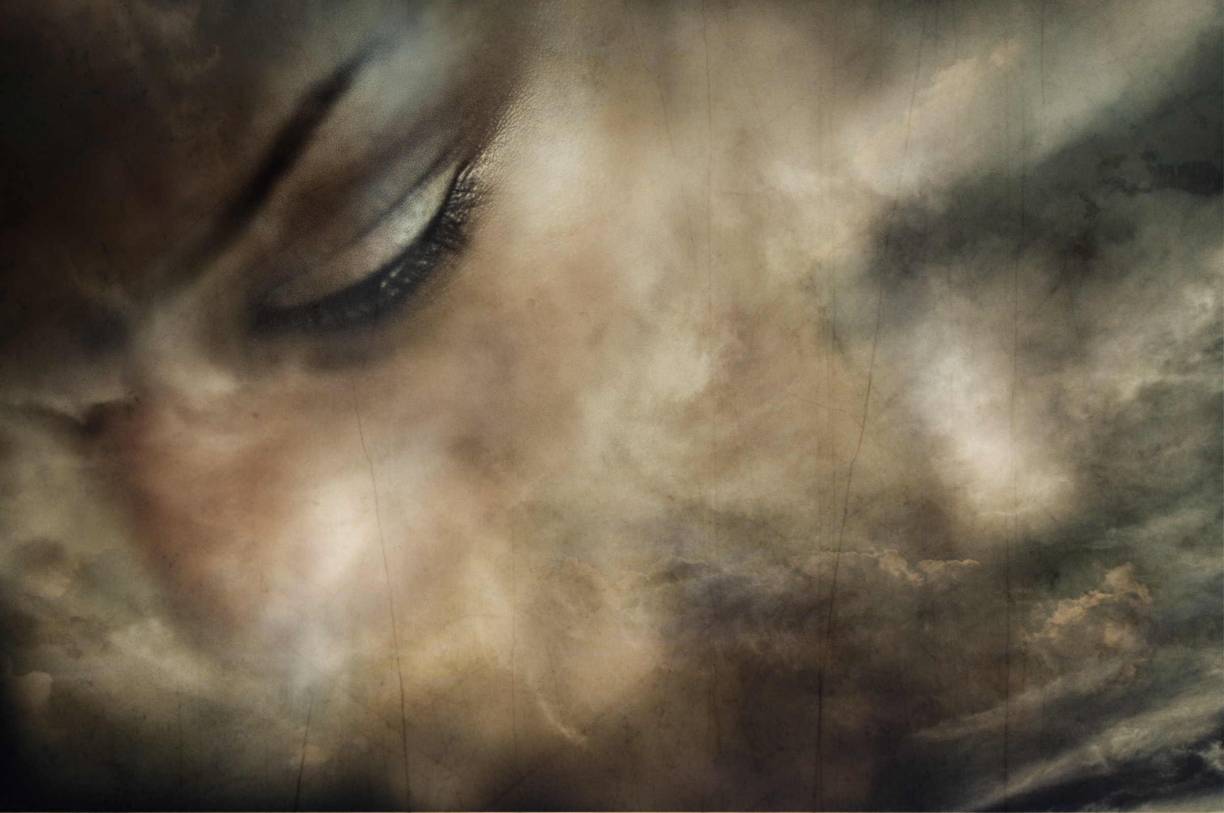 Stuck in a place, Artwork, Brown, Clouds, Dirty, HQ Photo