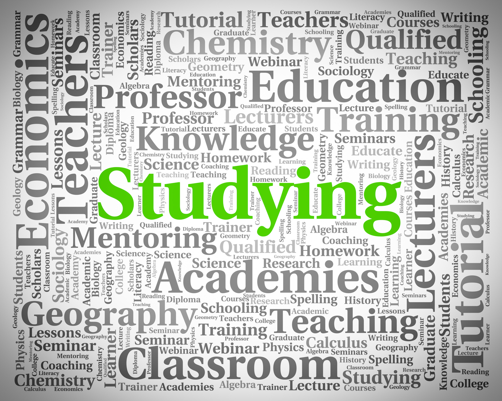 Studying Word Represents Learning University And Educating, College, Schooling, Word, University, HQ Photo
