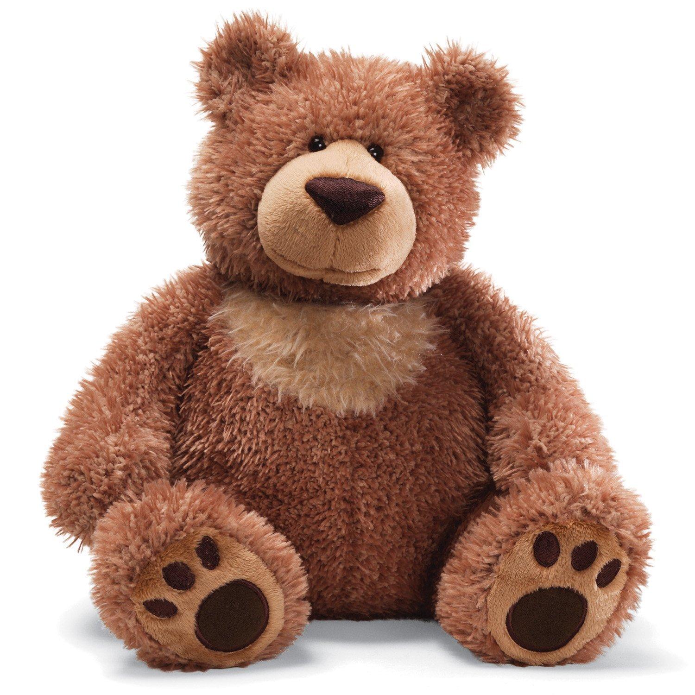 Amazon.com: GUND Slumbers Teddy Bear Stuffed Animal Plush, Brown, 17 ...
