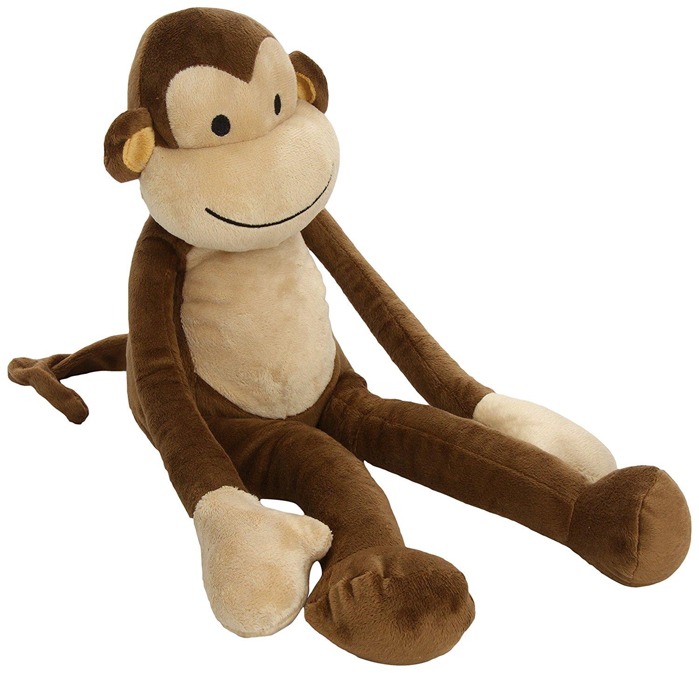 Amazon.com : Lambs & Ivy Papagayo Plush Monkey, Brown : Plush Animal ...