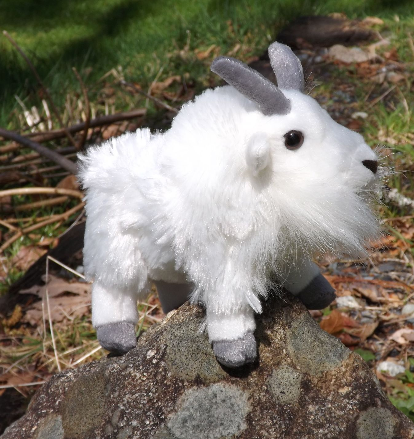 Mountain Goat Plush Toy – 8″ CK Mini Mountain Goat |