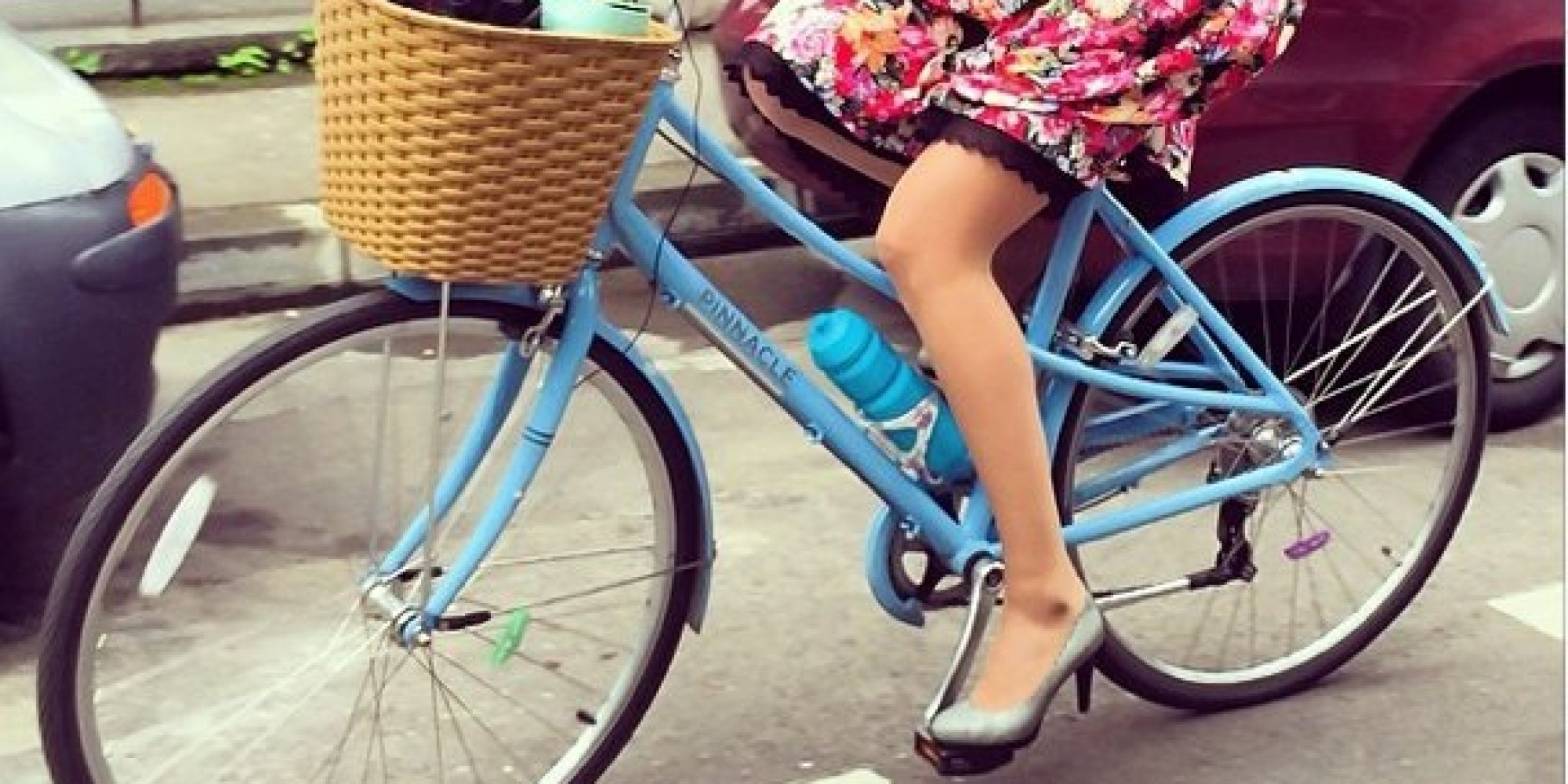 How To Look Like A Lady While Riding A Bike | HuffPost