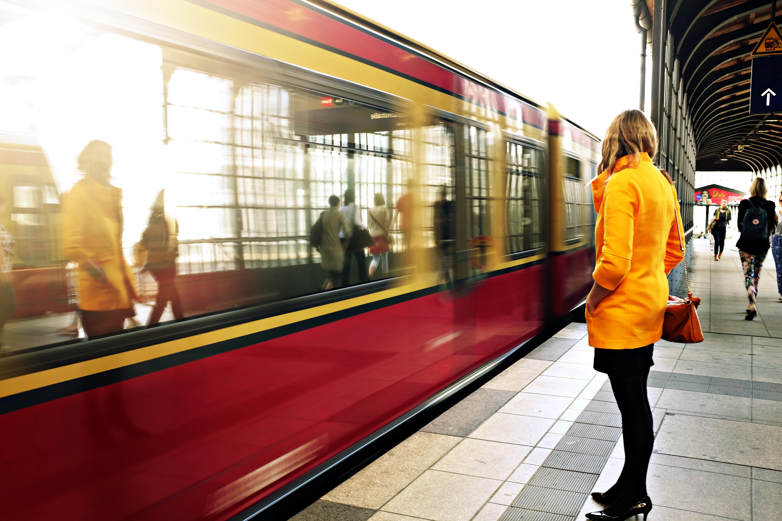 Subway Station, Terminal, Train, Subway, Reflection, HQ Photo