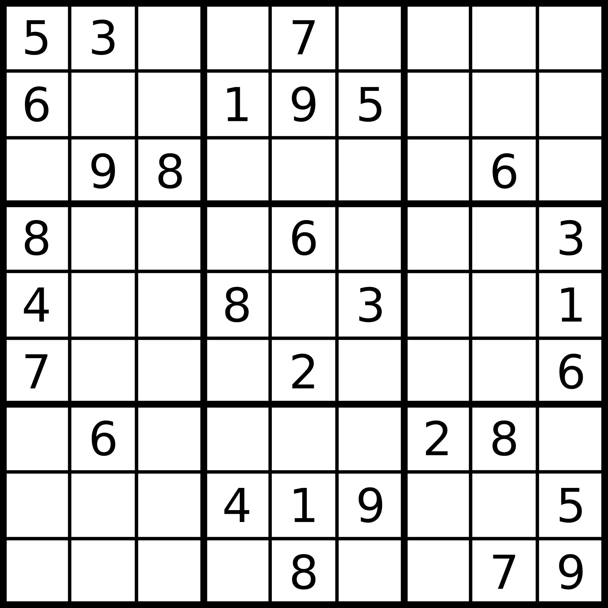 Sudoku photo