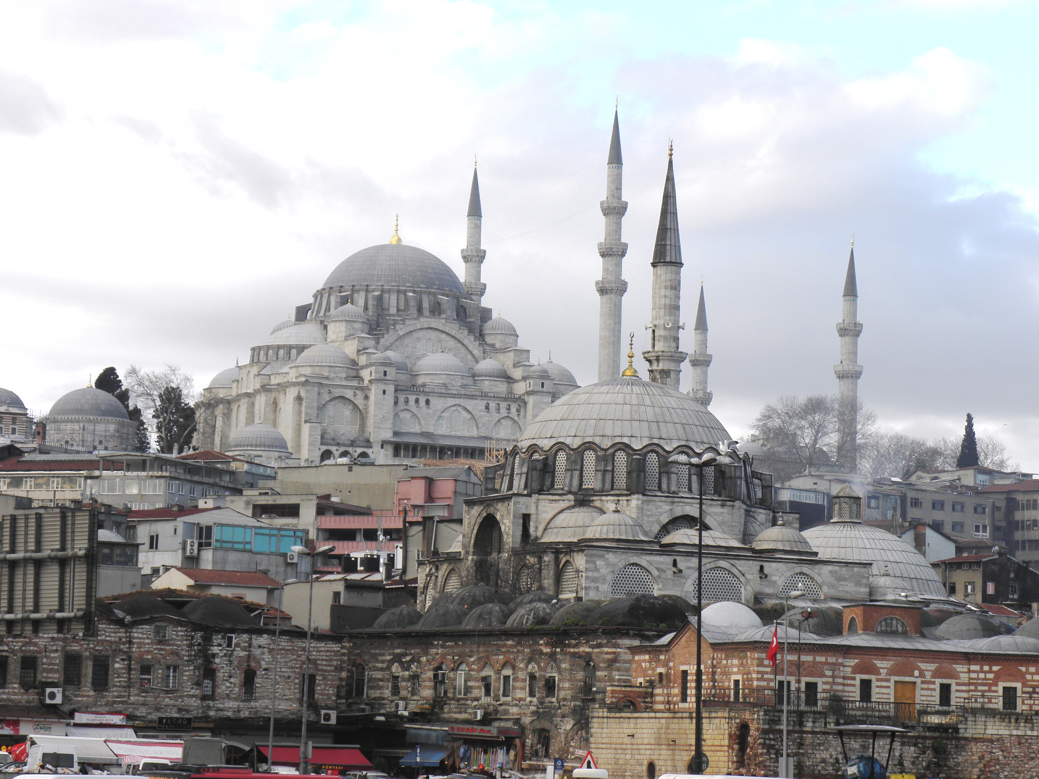 Suleymaniye mosque  a face of istanbul photo