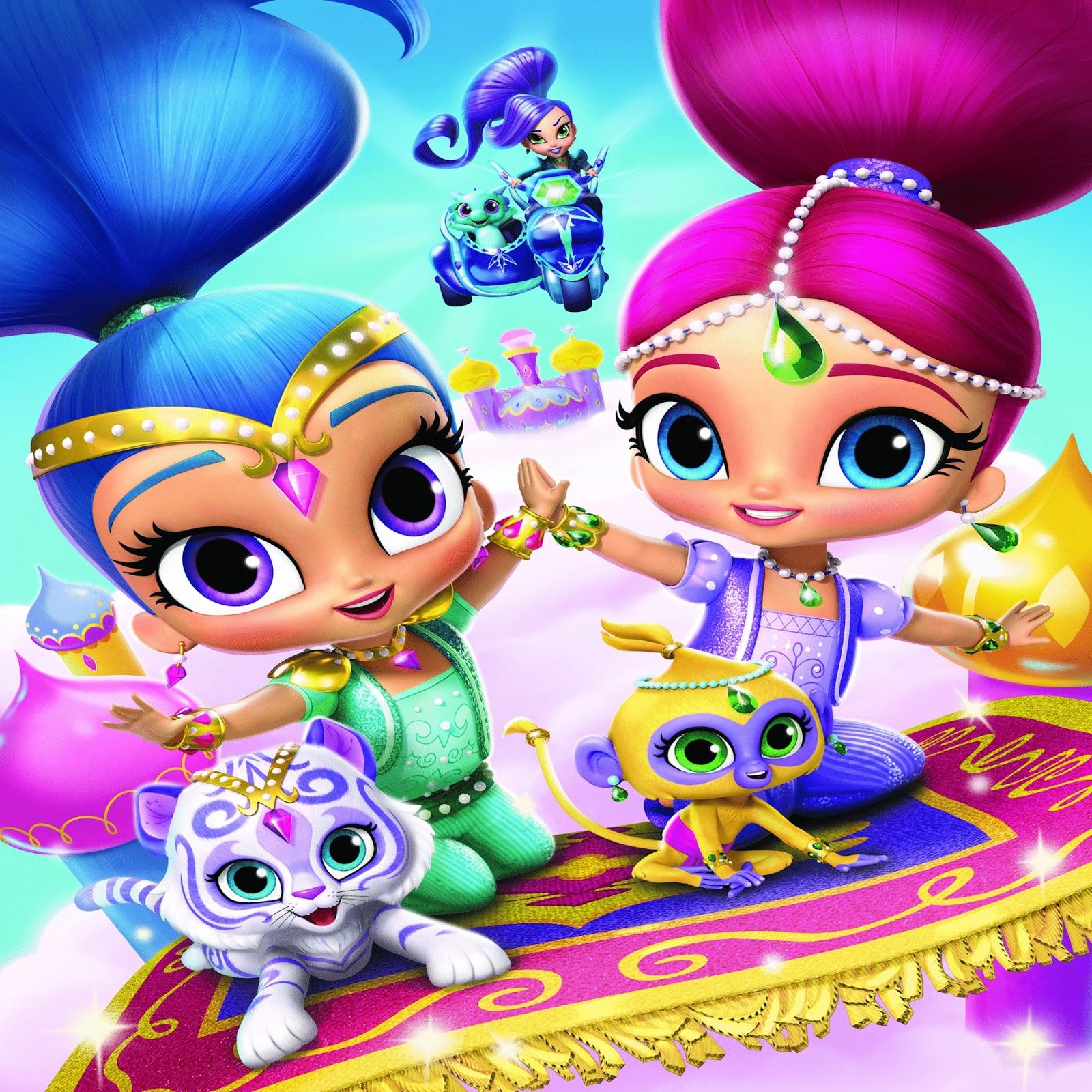 NickALive!: Nickelodeon Grants Preschoolers' Wishes With Brand-New ...