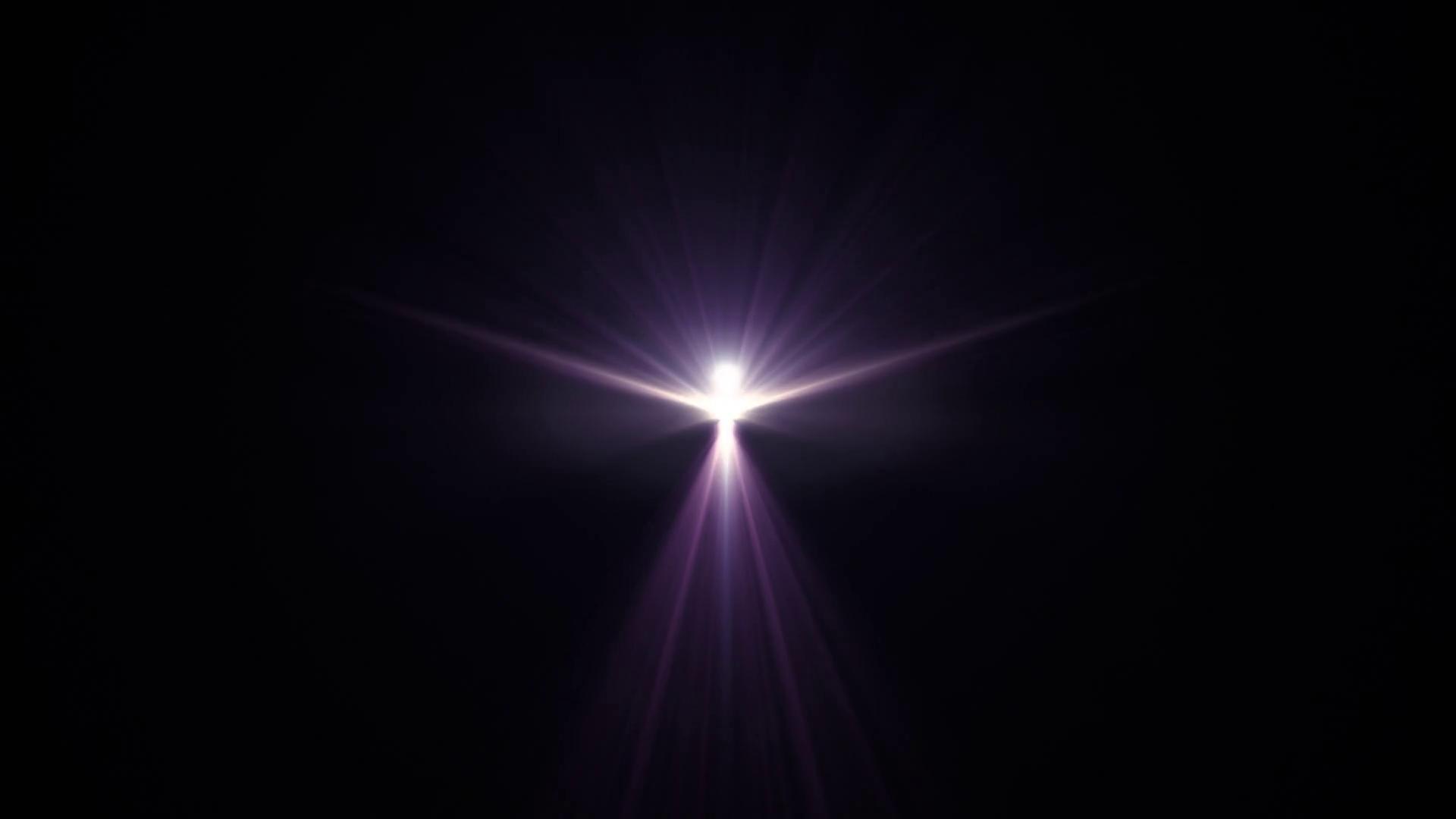 symmetrical bird man explosion flash lights optical lens flares ...