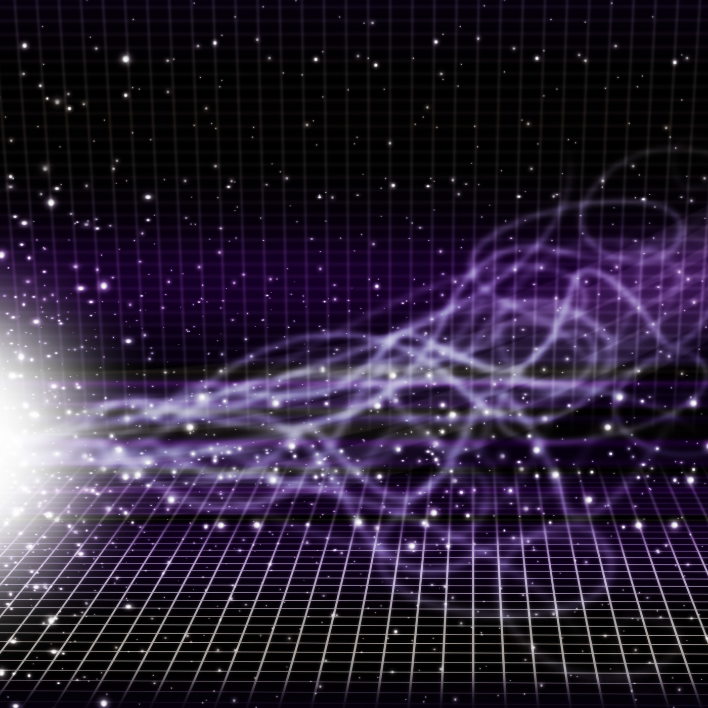 Sun space background shows transmitting solar energy photo