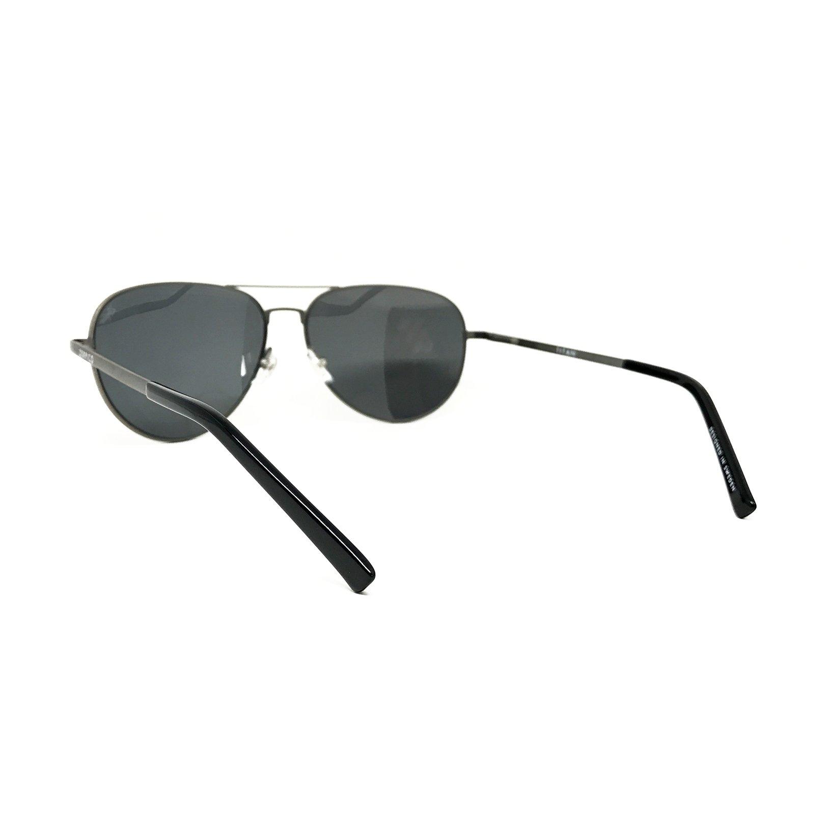 Titanium Aviator Sunglasses - TITAN - Gun Metal – Zerpico