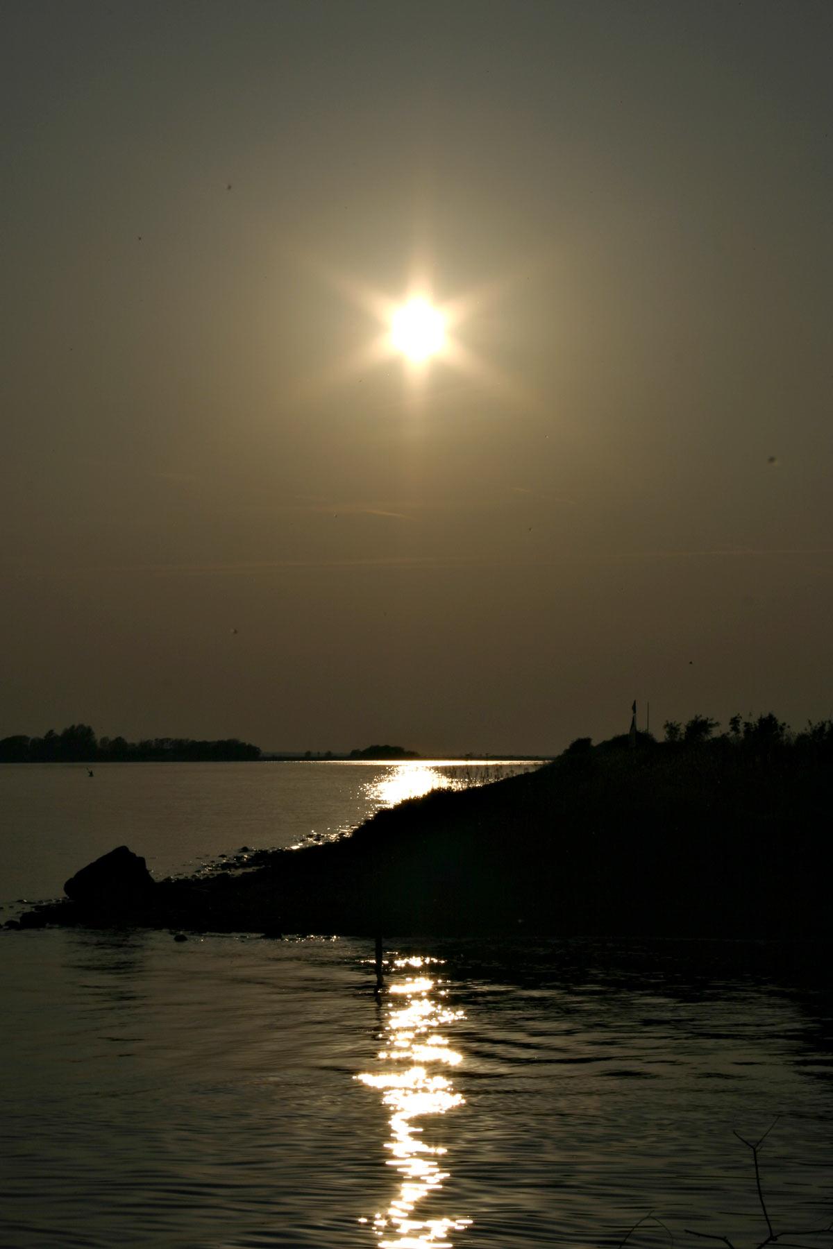 Sunny day, Denmark, Fjord, Landscape, Sea, HQ Photo