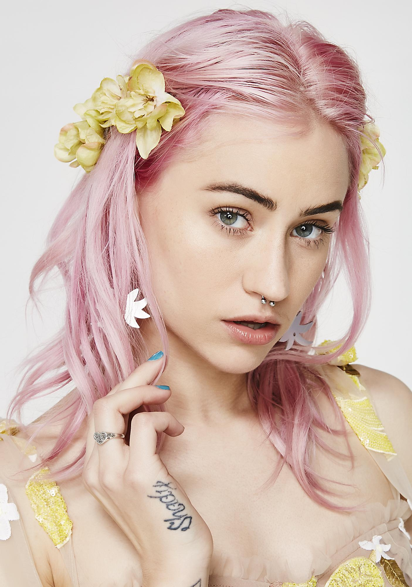 Rock n Rose Sunny Franny Flower Hair Pins | Dolls Kill