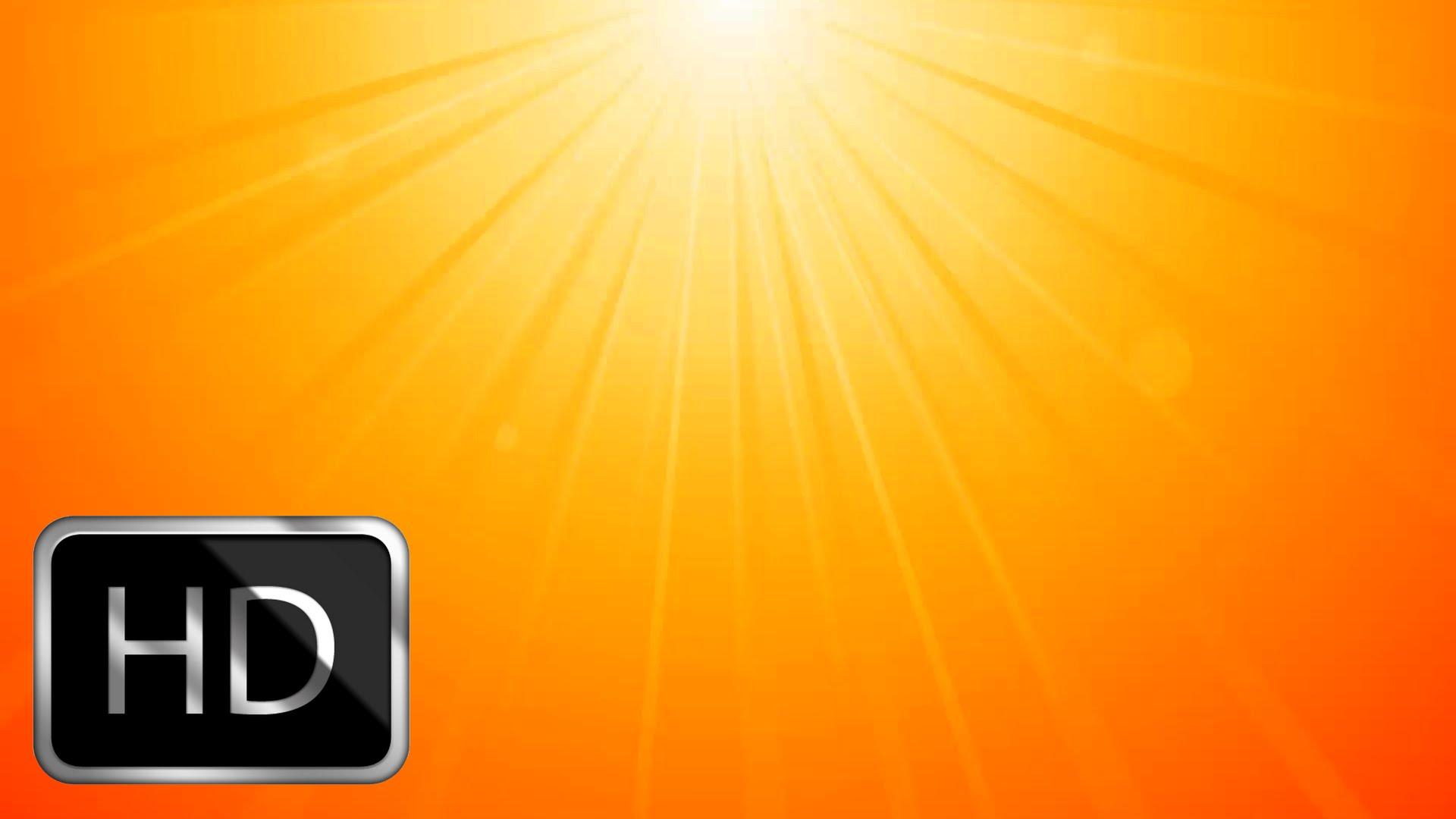 Sun Rays Background - YouTube