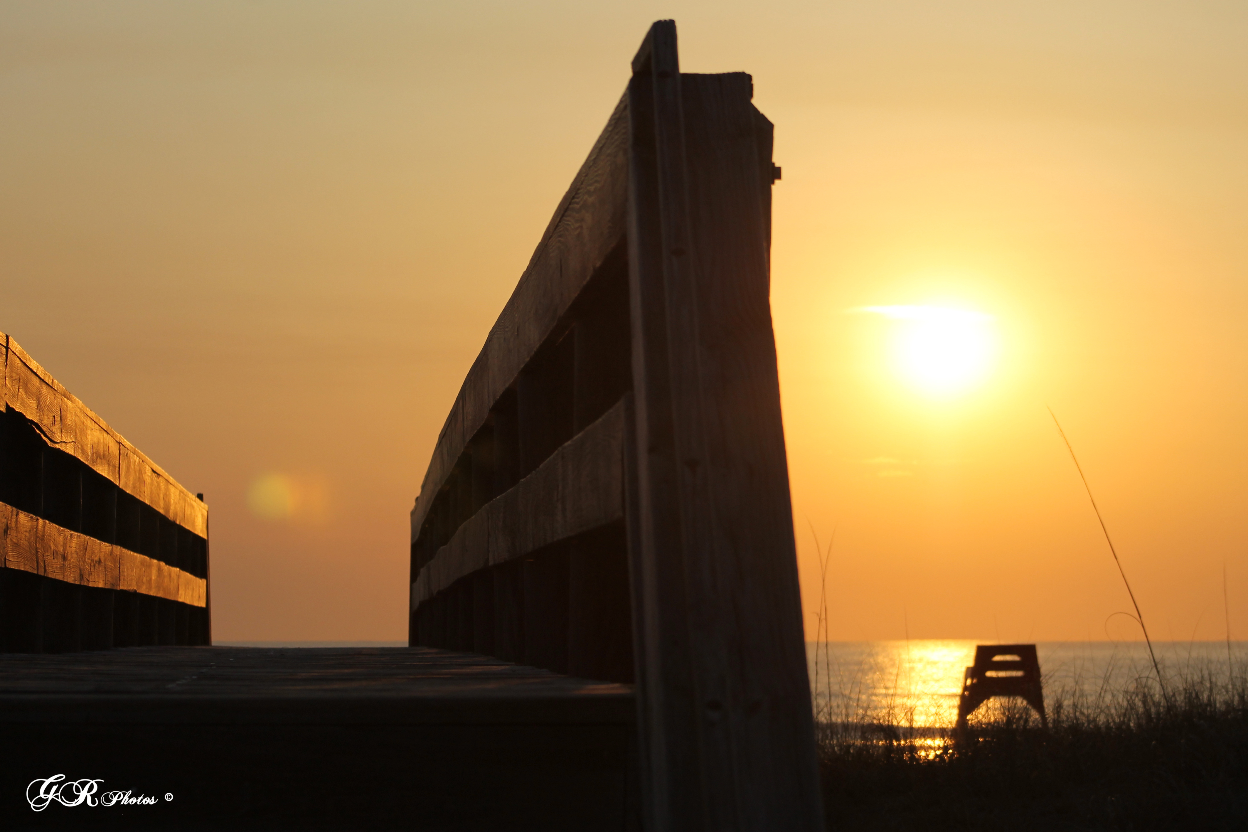 Sunrise, Building, Sea, HQ Photo