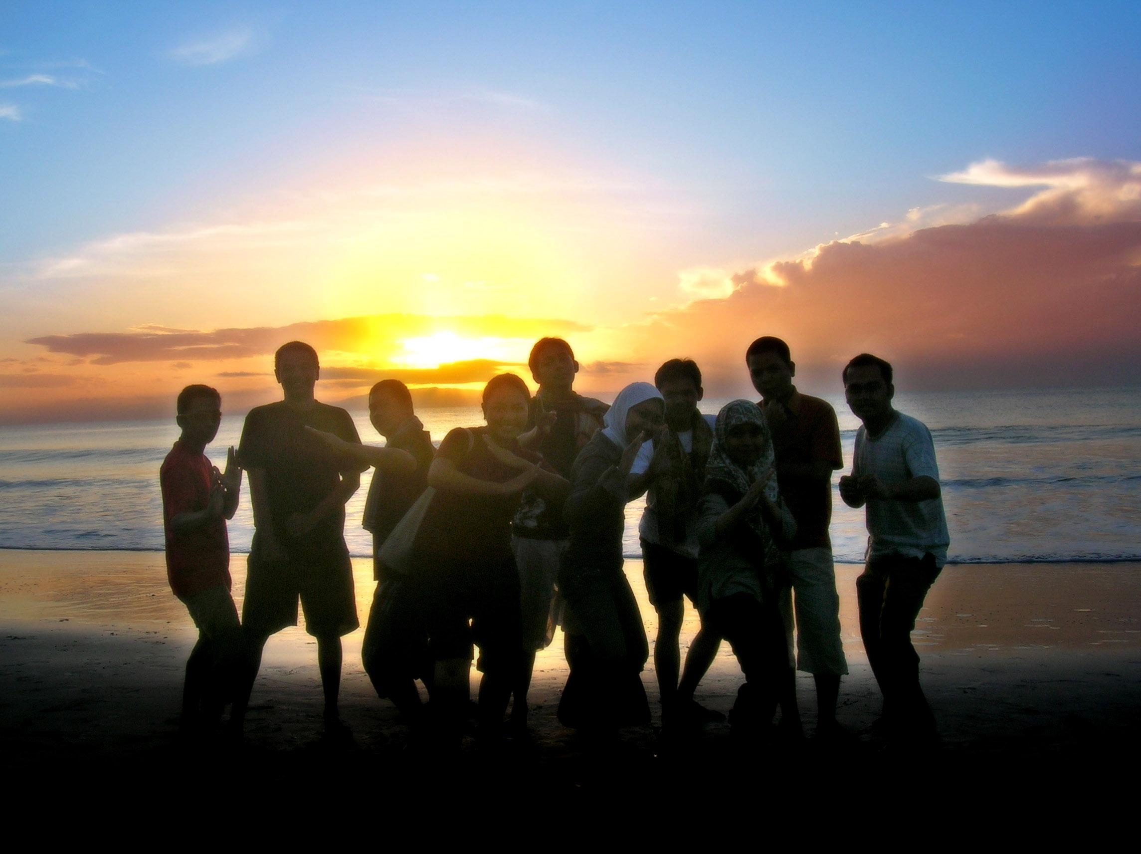 Sunrise group photo