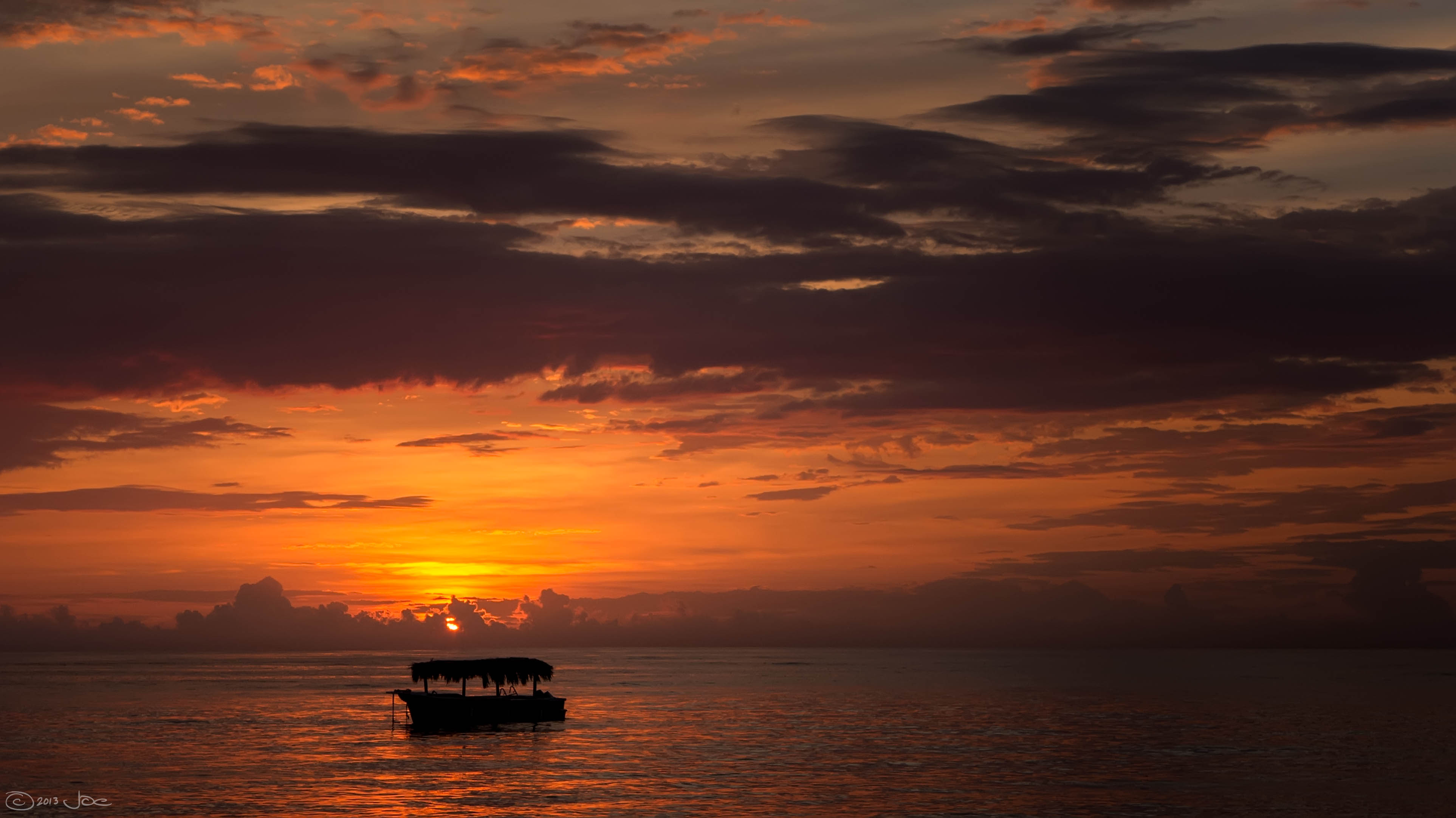 Sunrise, punta cana, dominican republic photo