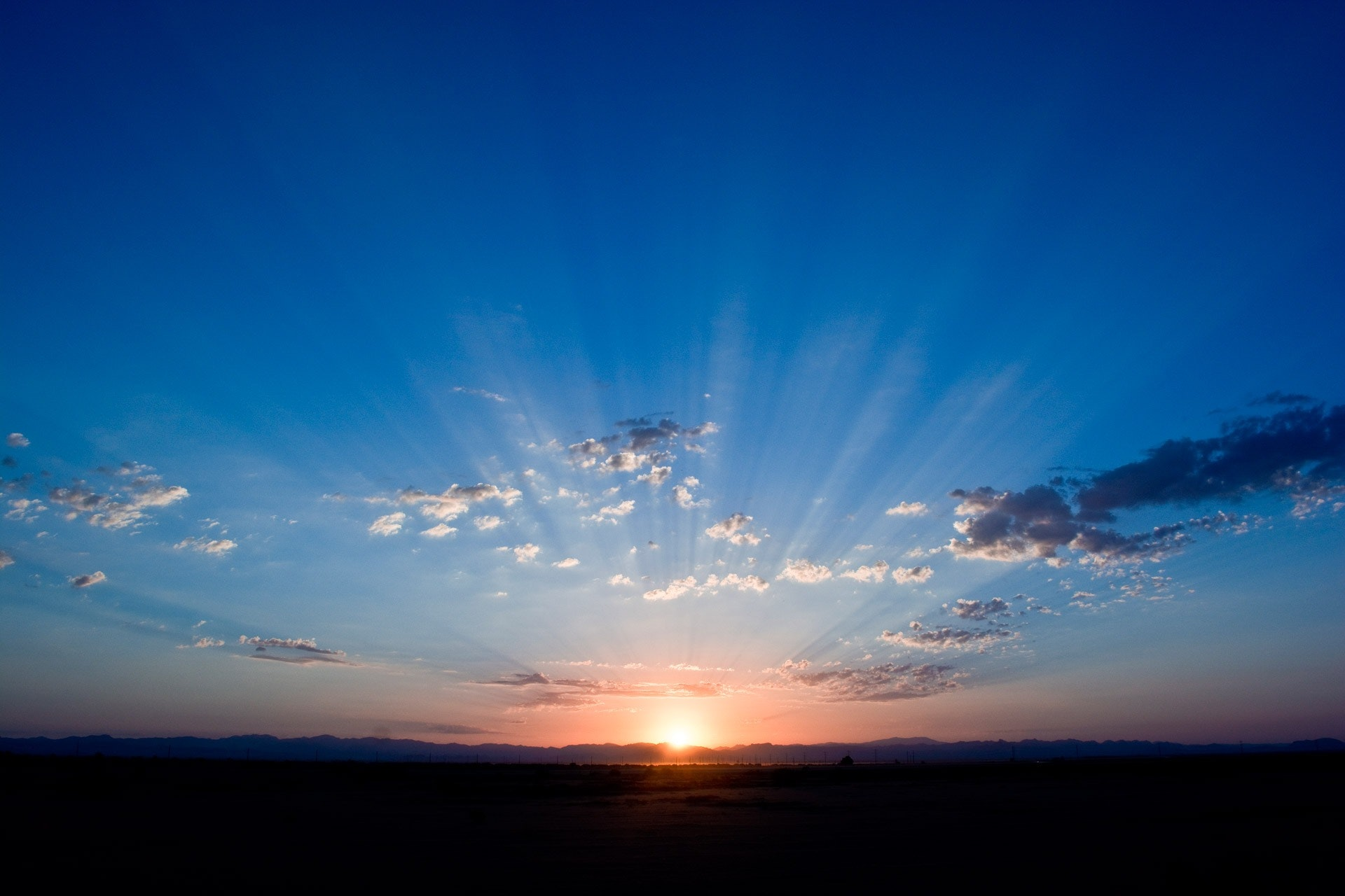 Free photo: Sunrise Under Cloudy Sky Illustration - Sunrays, Sun ...