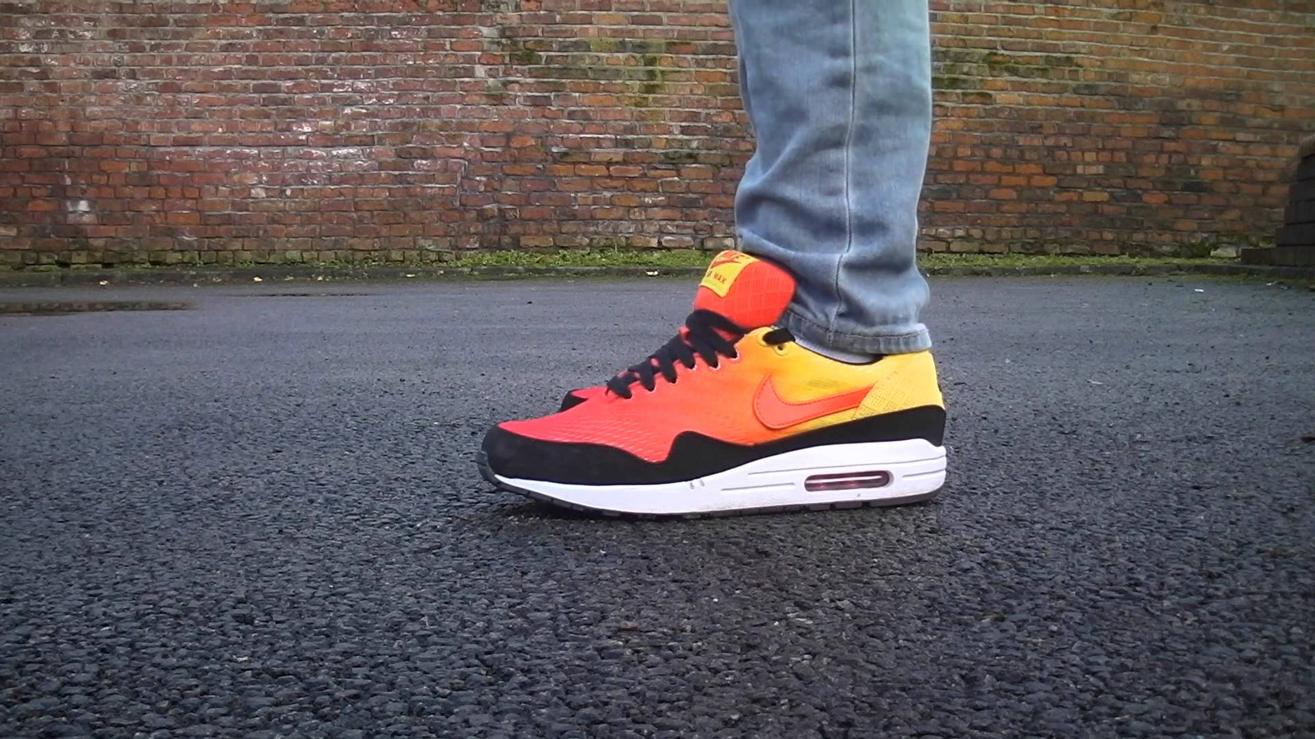 Nike air max 1 'sunset series' - Live look & onfeet review - YouTube