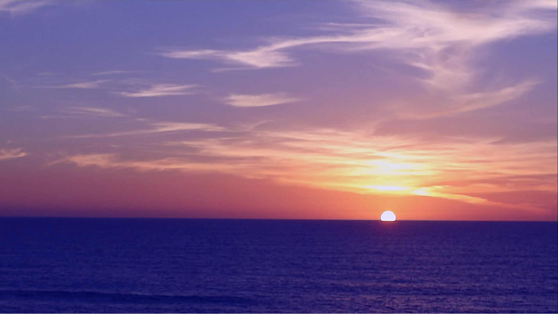 Ocean Sunset Background Video - MusicTruth - Background Videos