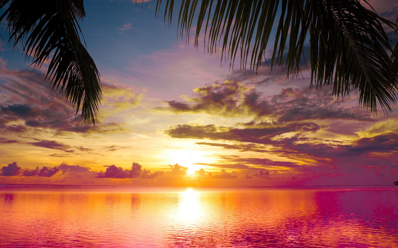 Beach Sunset 28806 2880x1800 px ~ HDWallSource.com