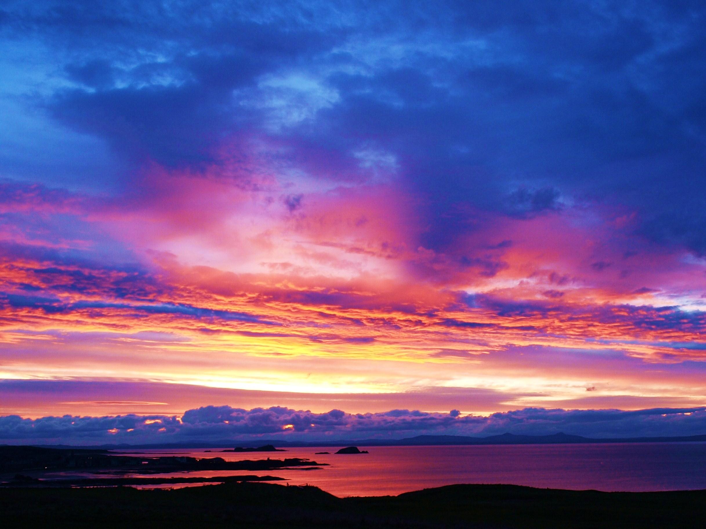 The sunset photo