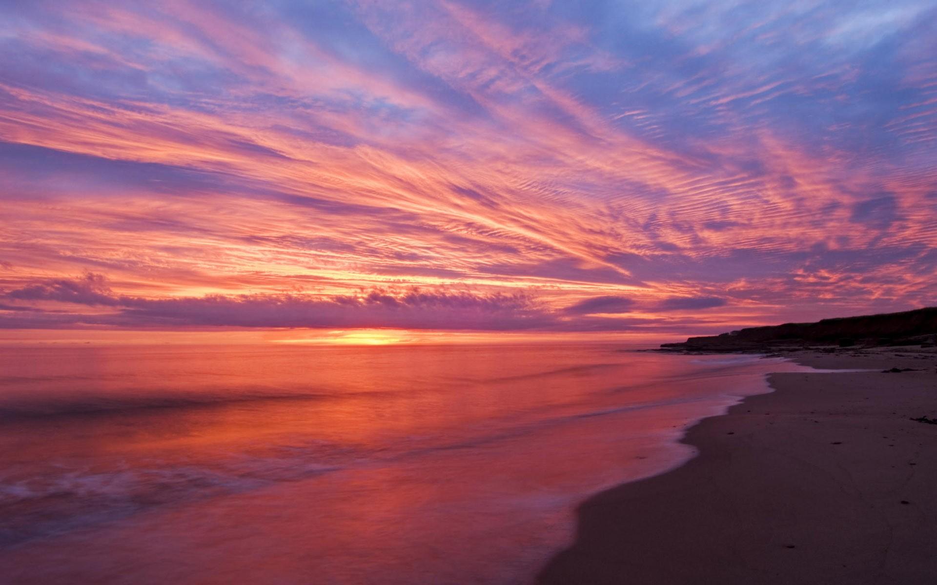 Ocean Sunset 35994 1920x1200 px ~ HDWallSource.com