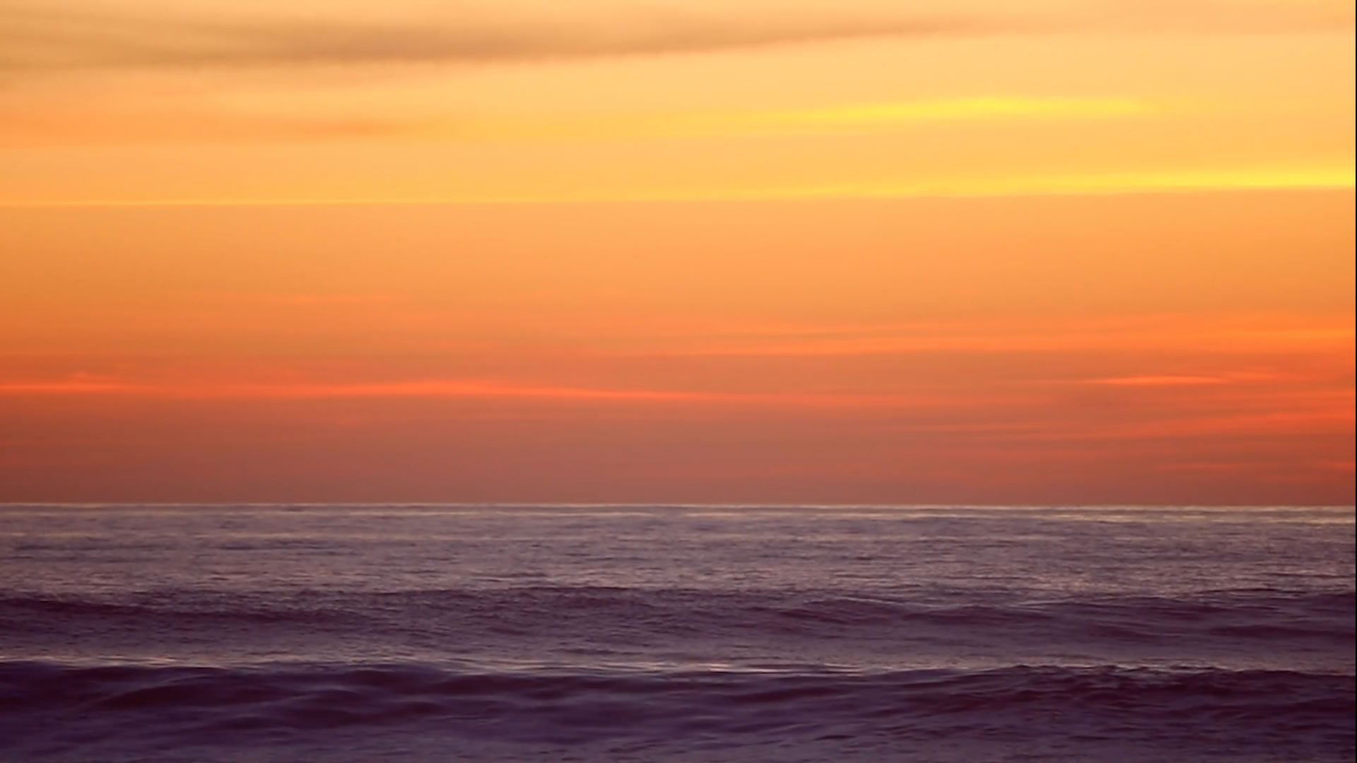 Sunset Over Waves Background Video Loop - MusicTruth - Background Videos