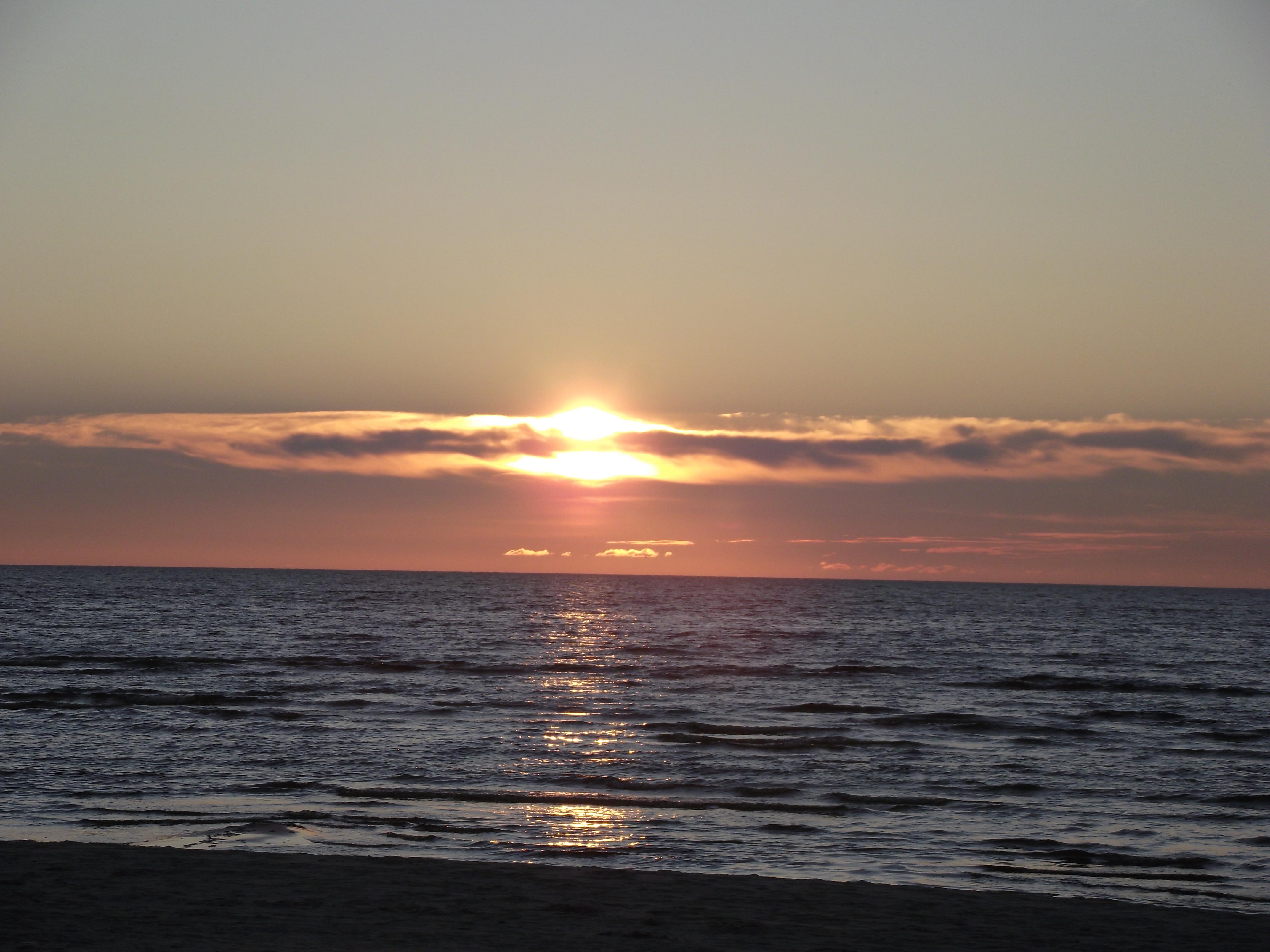 Sunset - Baltic Sea, 2012, Beautiful, Dawn, Hd, HQ Photo