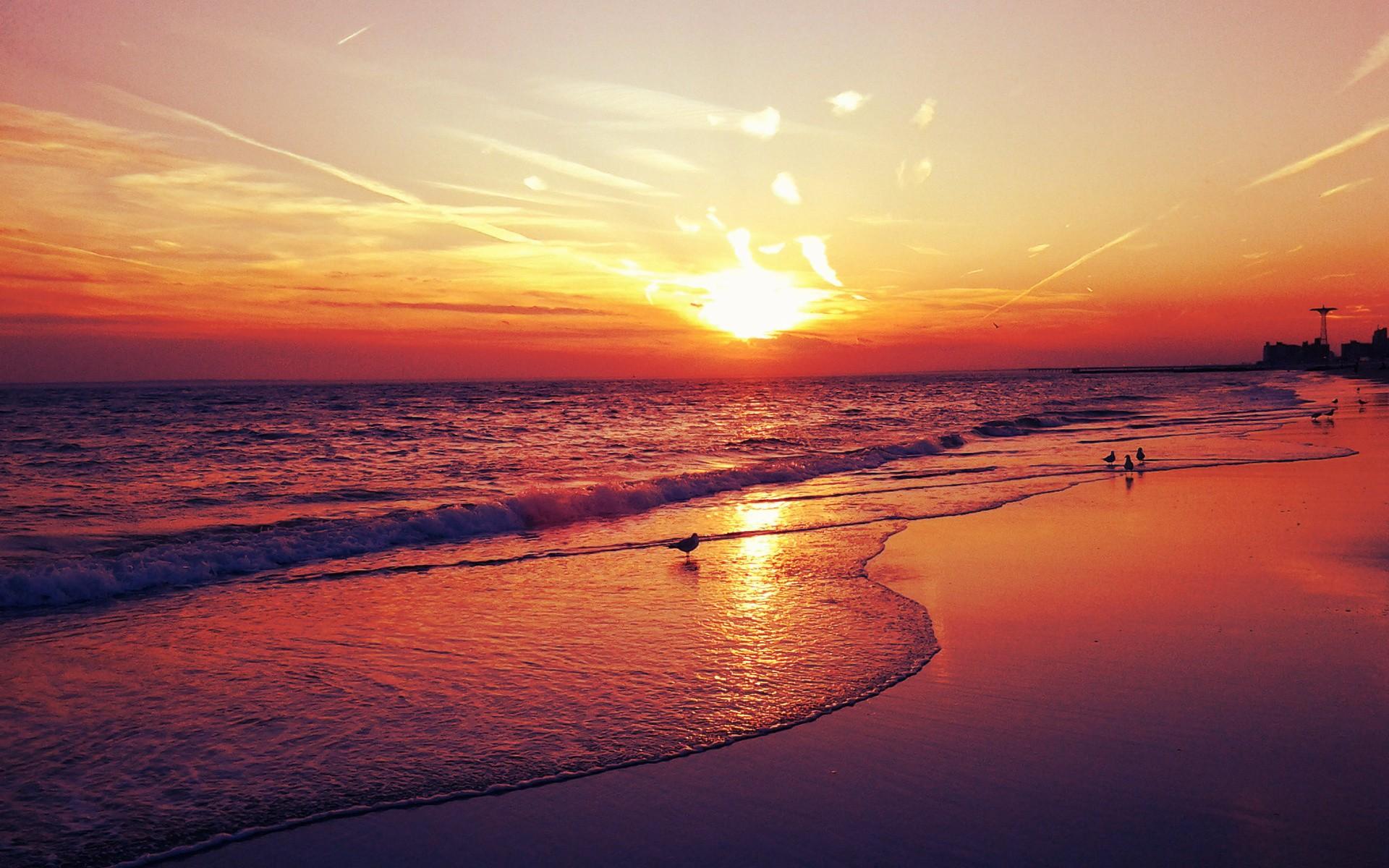 1920x1200px » Sunset Beach Wallpapers